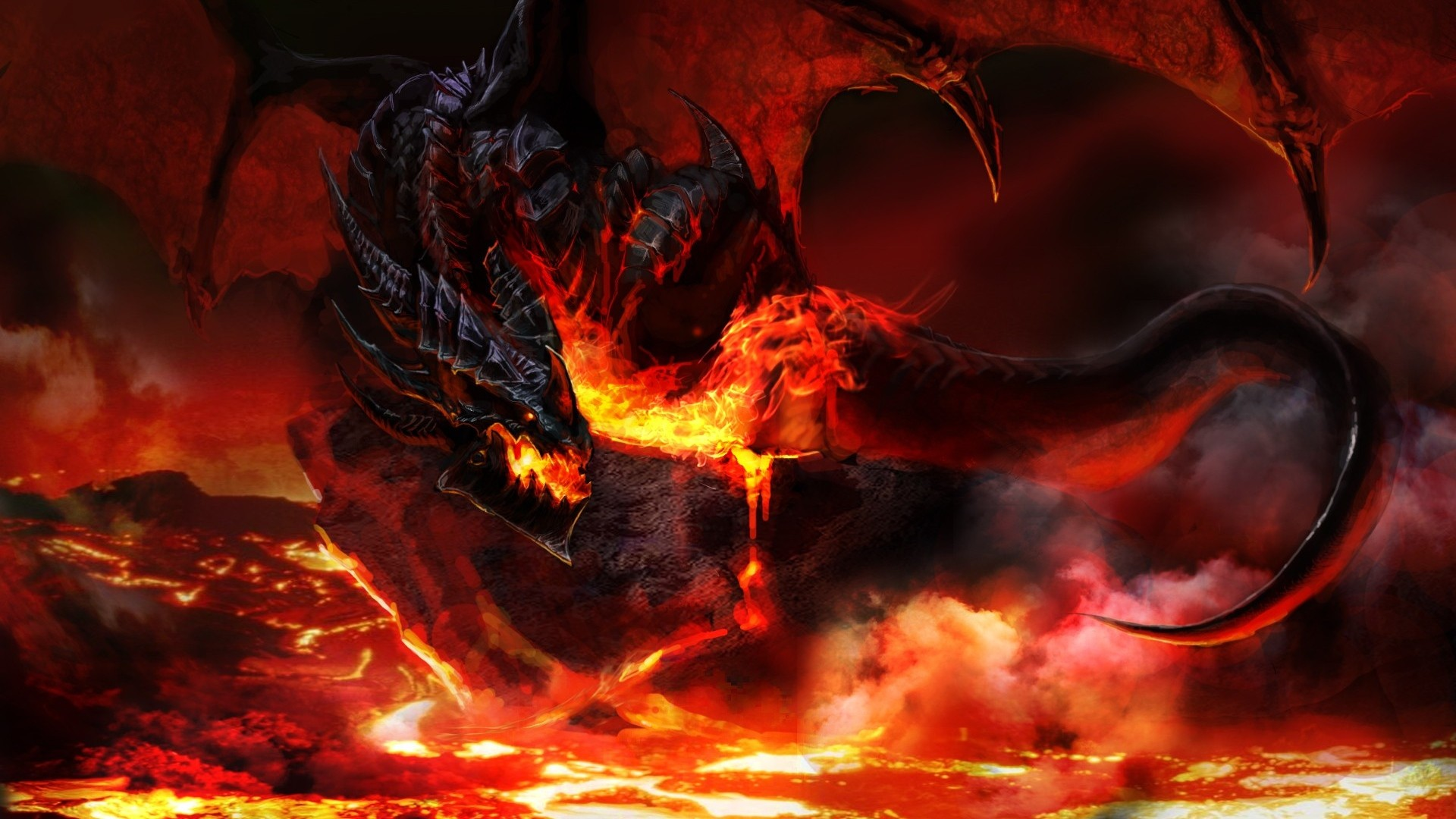 dragon wallpaper widescreen high resolution - photo #23