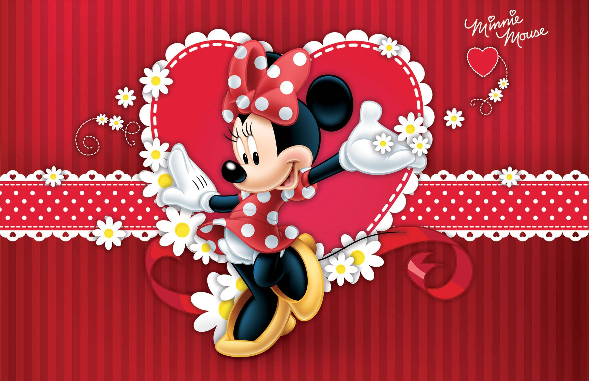 Minnie Mouse background ·① Download free amazing ...