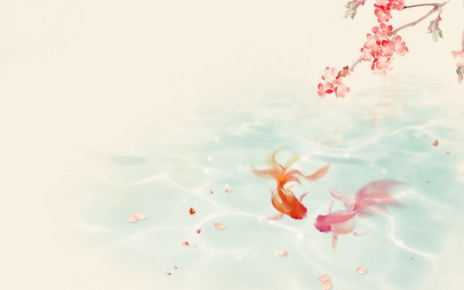 Koi Fish Background 1