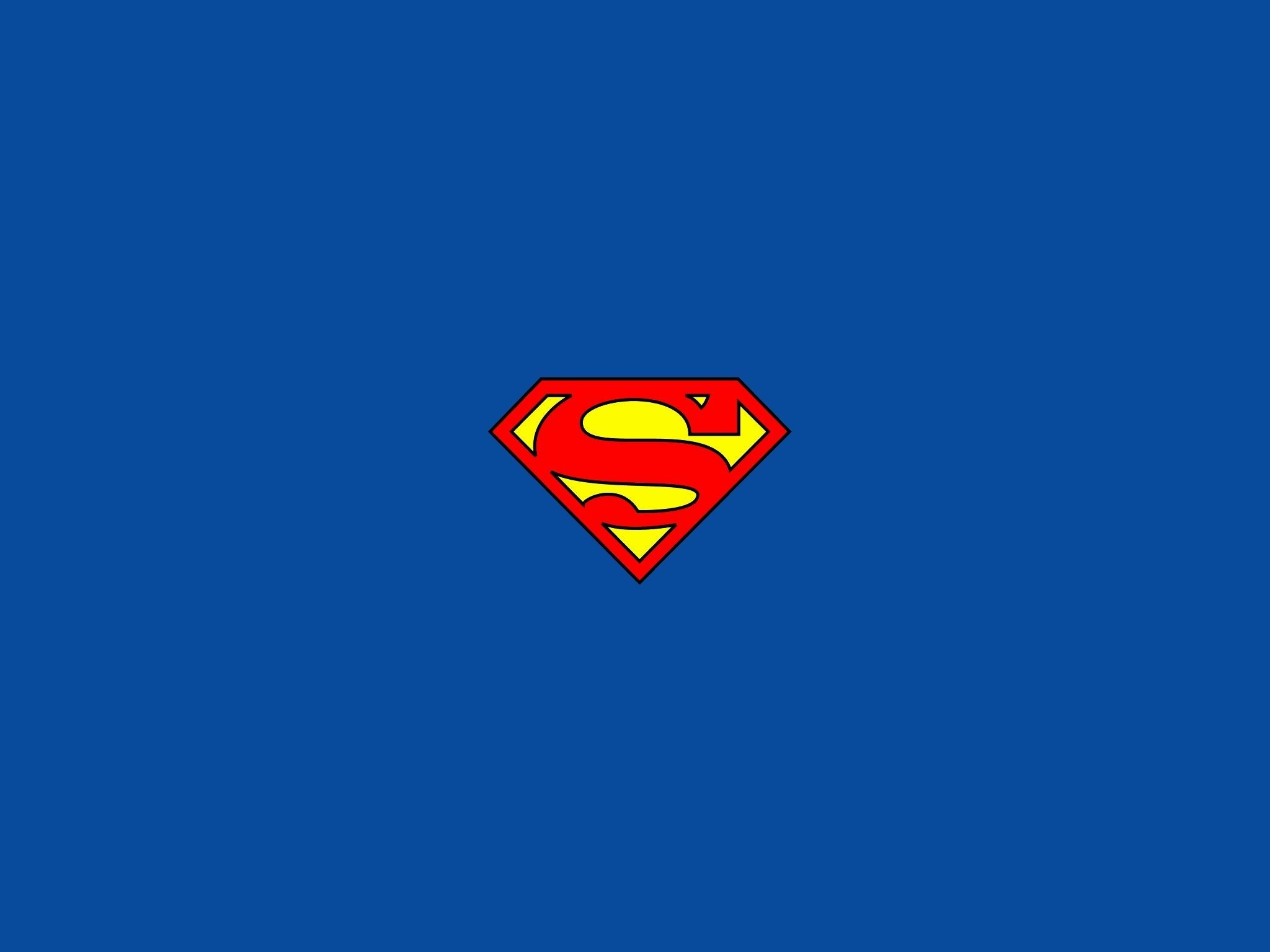 Xiaomi Wallpaper With Logo: Superman Emblem Wallpaper ·①