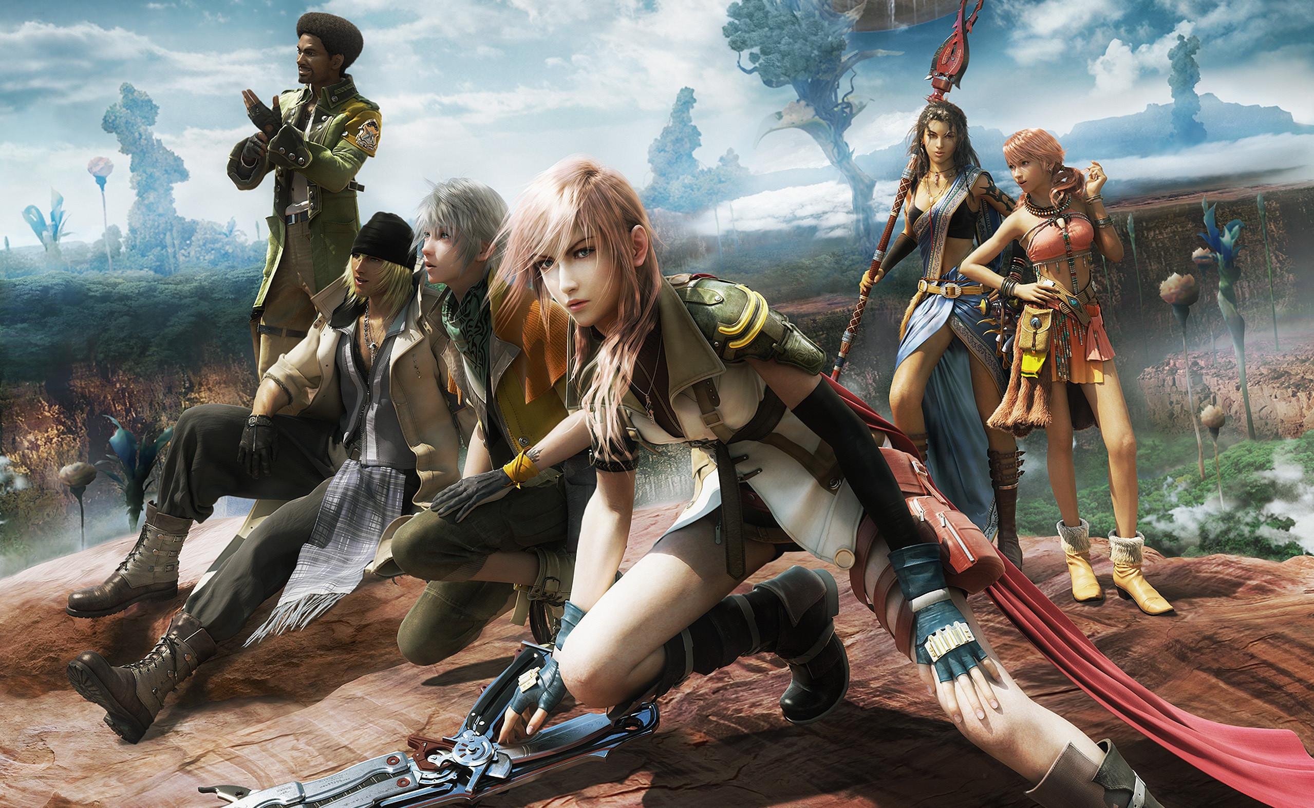 Final Fantasy 13 Wallpaper Hd Wallpapertag