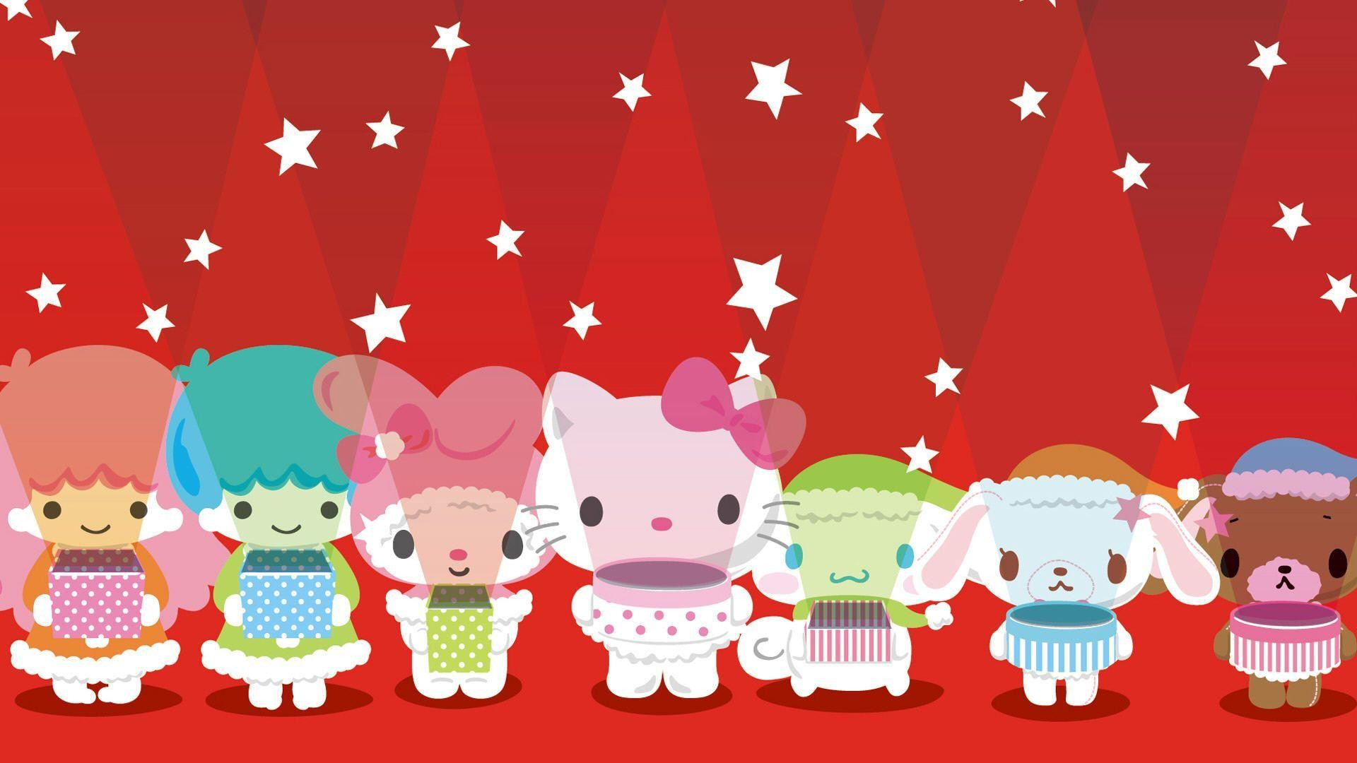 Christmas Hello Kitty Wallpaper Wallpapertag
