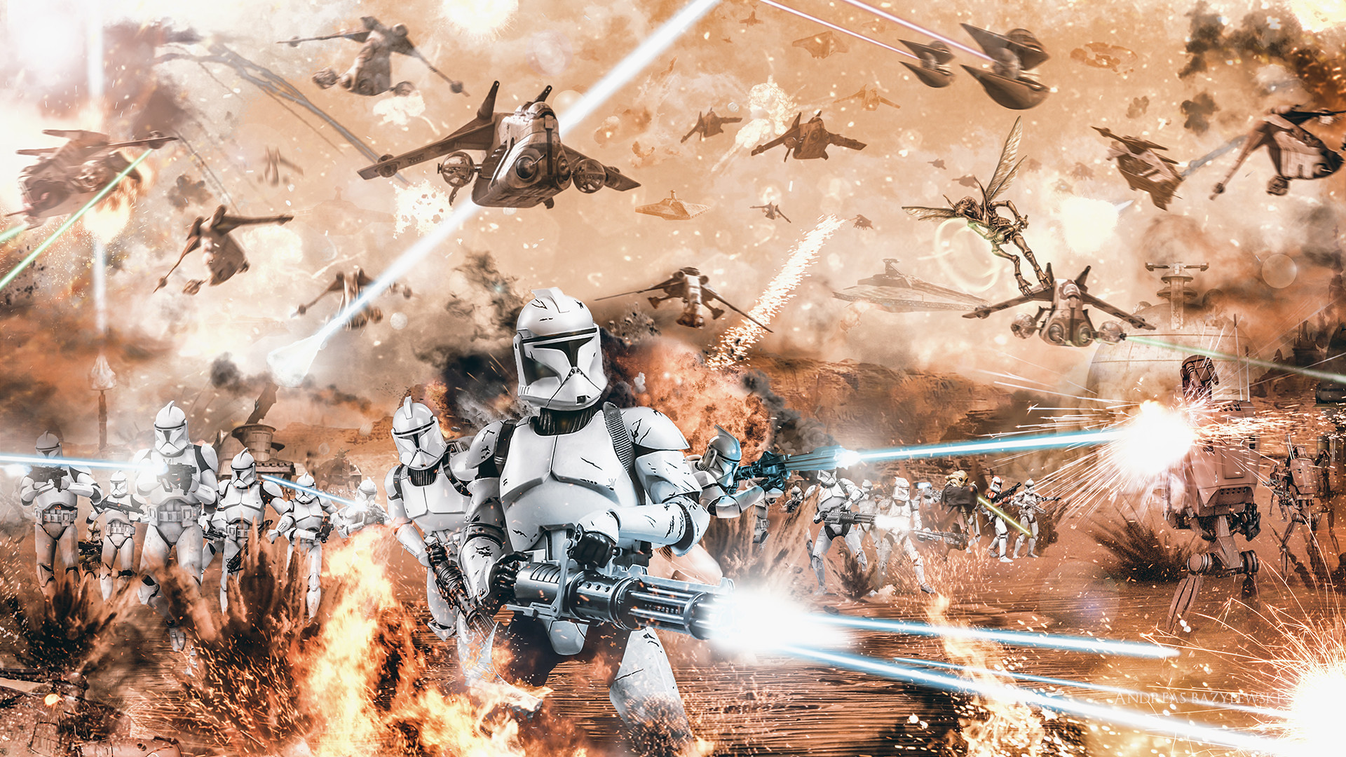 Star Wars Clone Trooper Wallpaper Wallpapertag