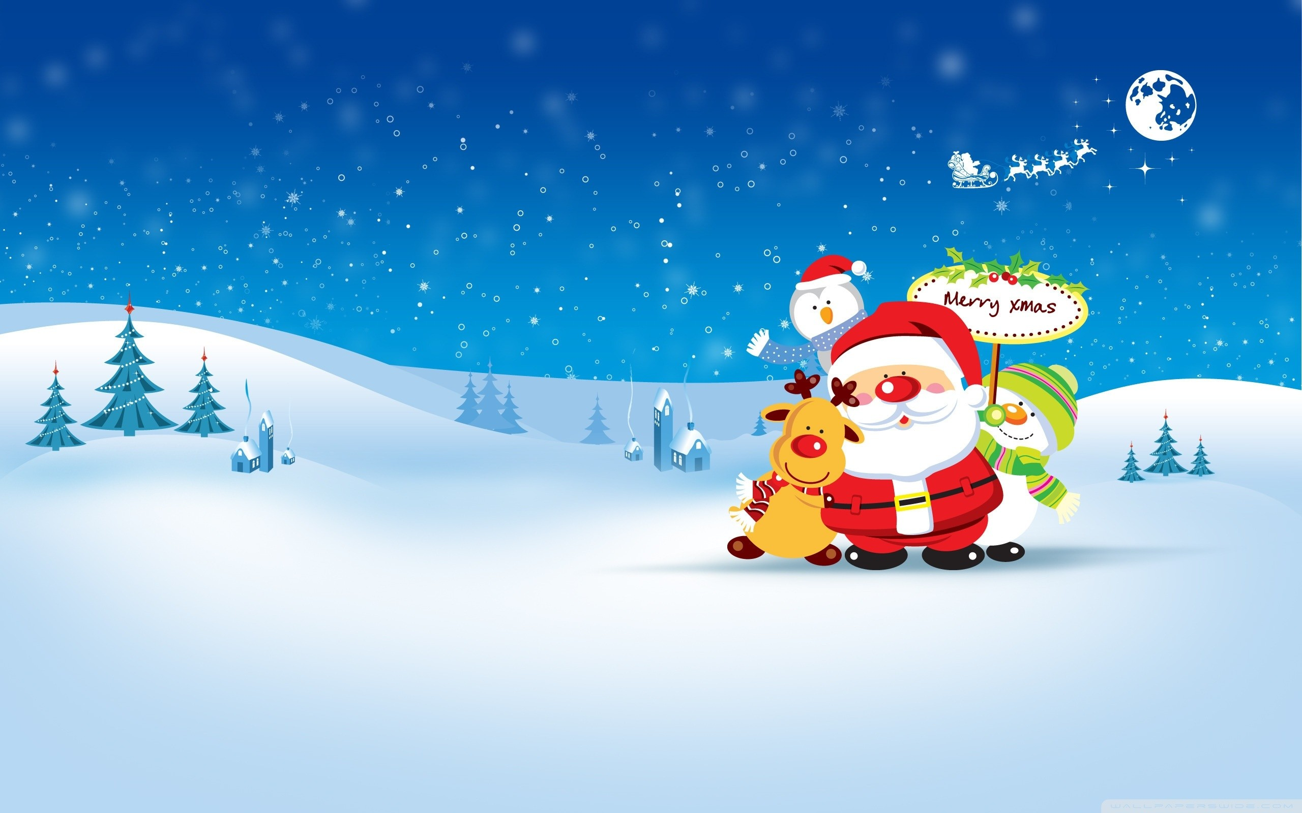 25 Christmas Powerpoint Backgrounds Download Free Stunning Full