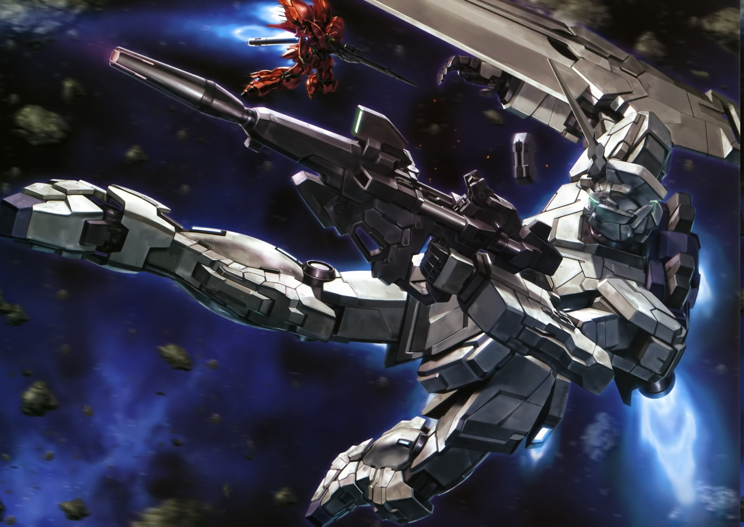 Gundam Unicorn Full Armor Wallpaper Wallpapertag