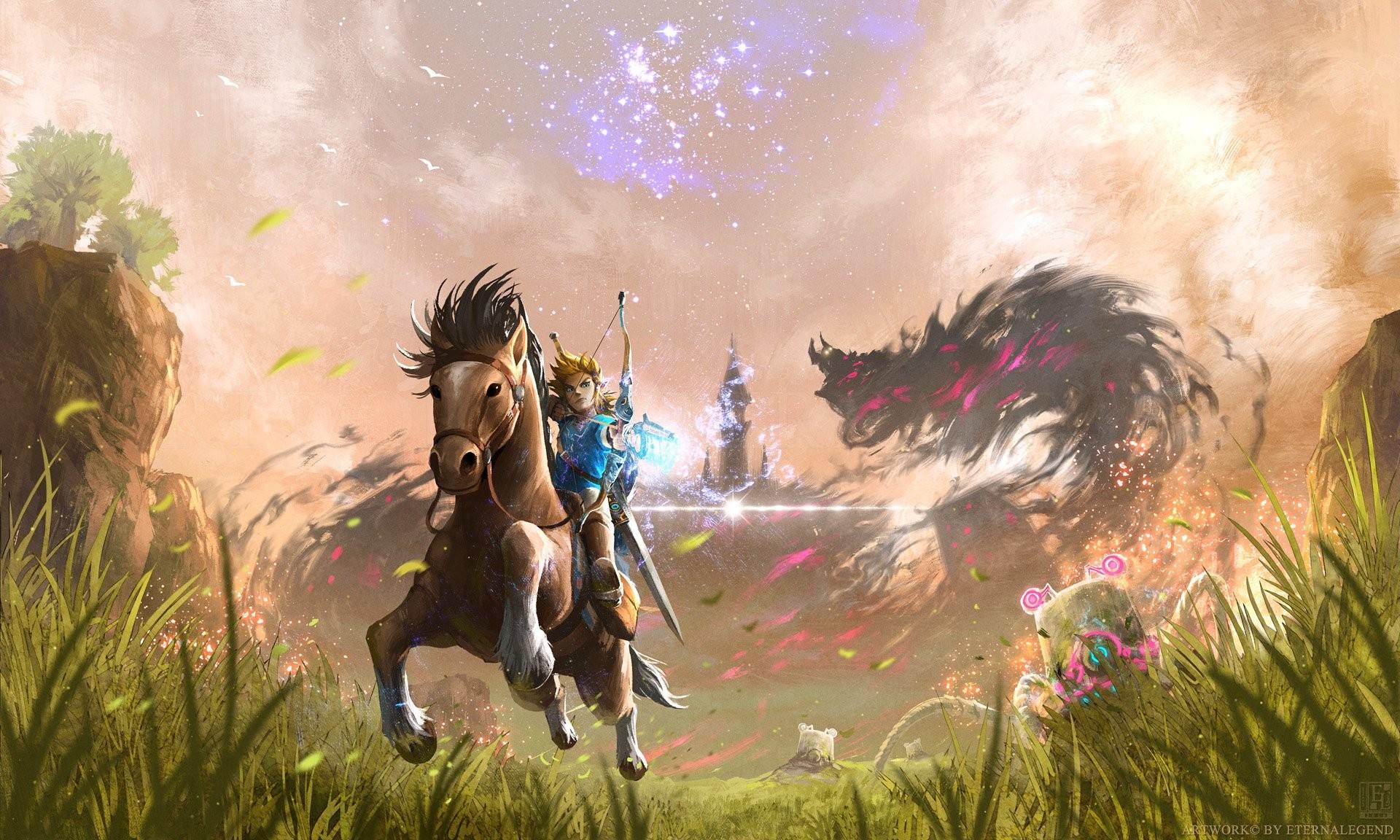 Zelda Breath Of The Wild Wallpaper Download Free Cool High