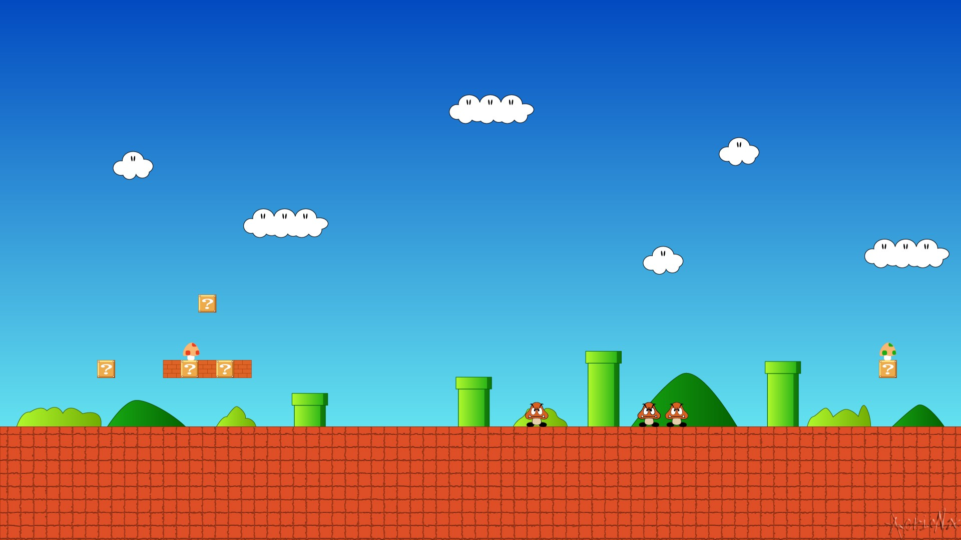super mario world wallpaper ·① download free cool hd backgrounds