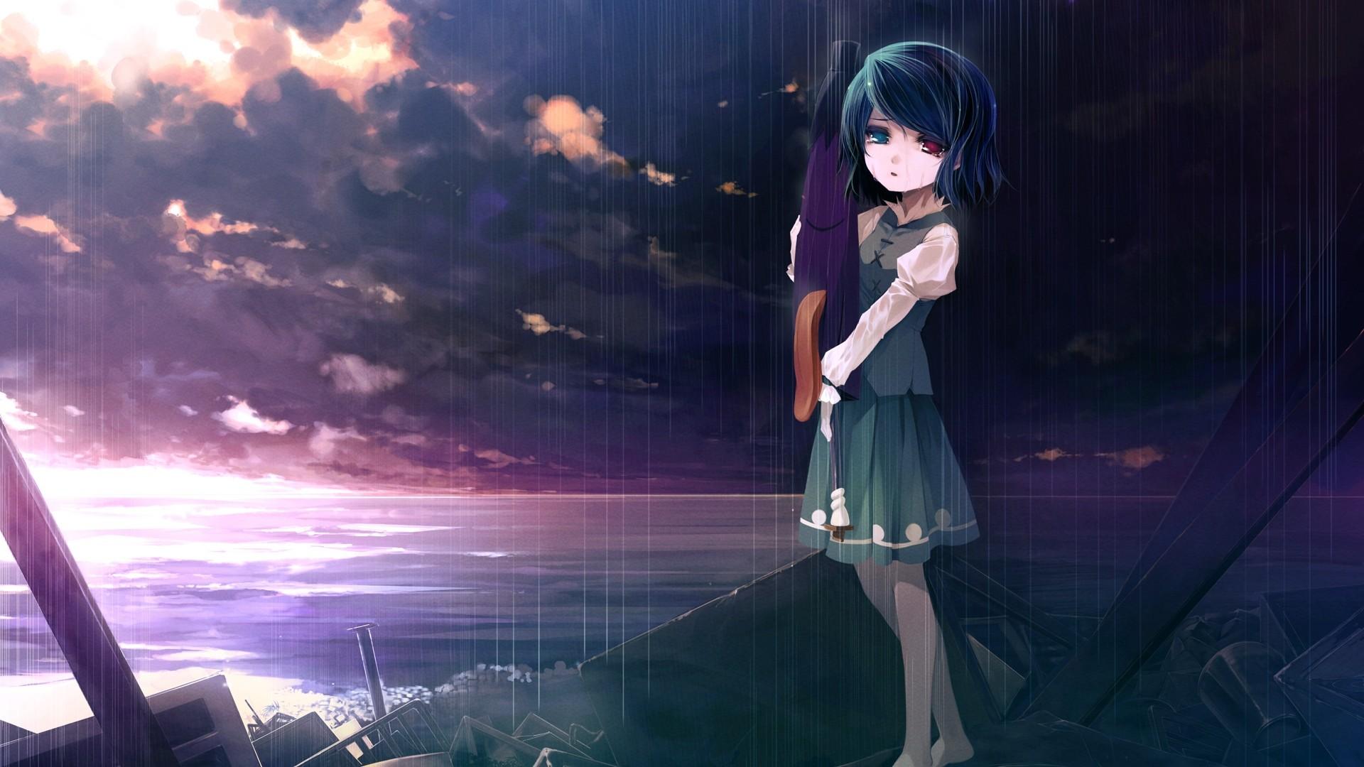 Sad Girl Wallpaper Hd Full Size: Sad Anime Wallpapers ·① WallpaperTag