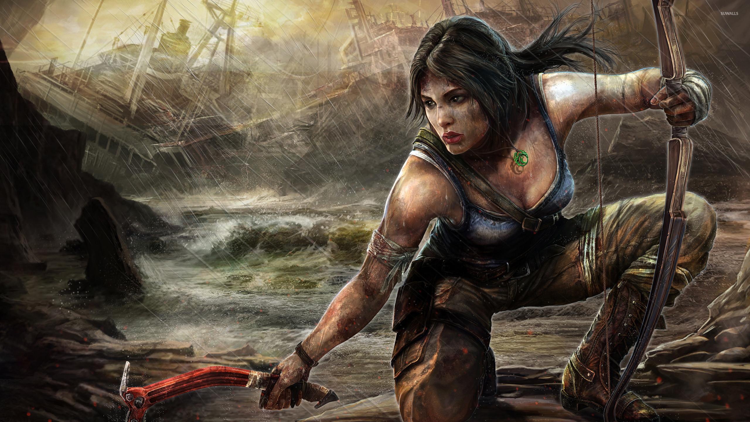 Lara Croft Underworld Wallpaper ·① WallpaperTag