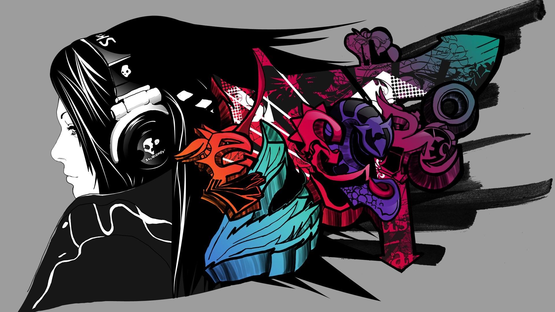 Music Graffiti Wallpapers Wallpapertag