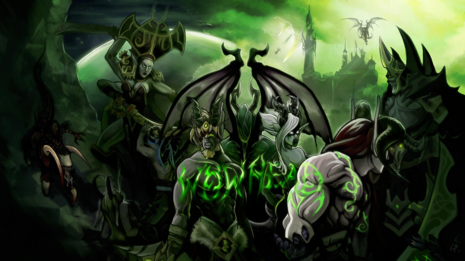 World Of Warcraft Legion Wallpaper ·① Download Free