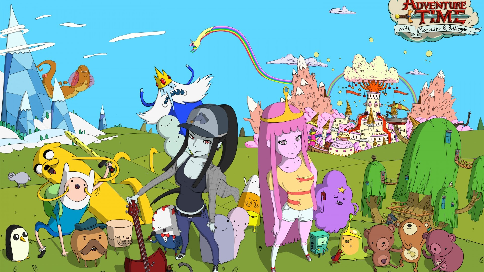 Adventure Time Wallpapers HD ·① WallpaperTag