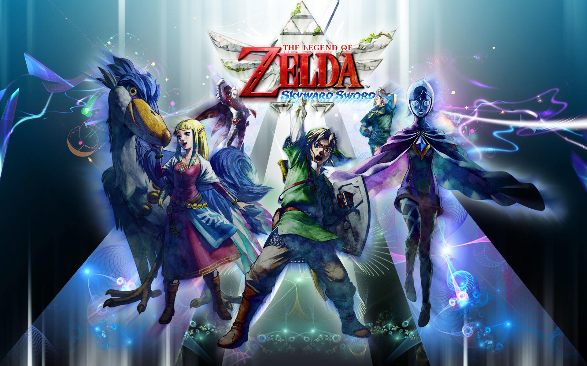 Legend Of Zelda Skyward Sword Wallpaper Wallpapertag