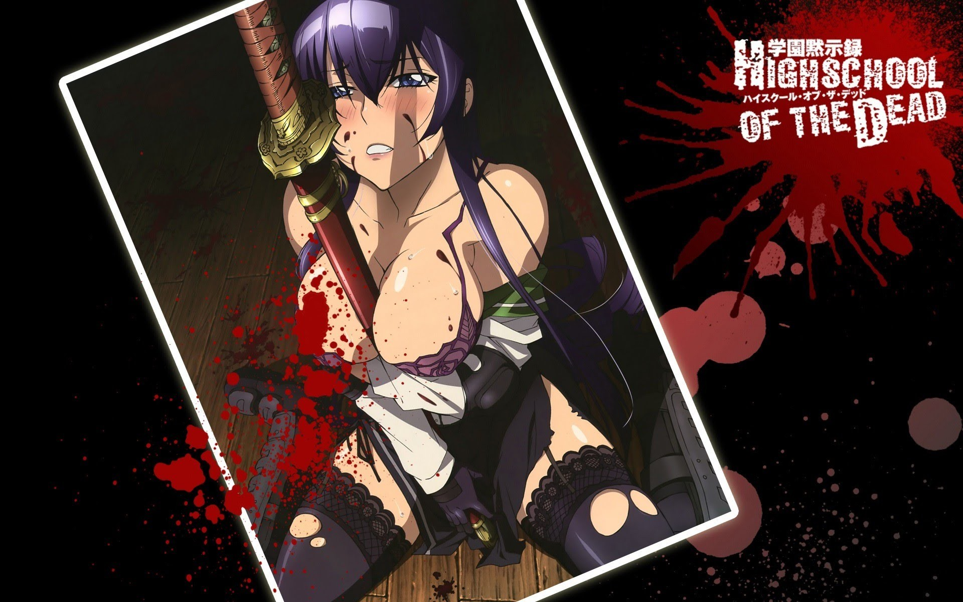 Highschool Of The Dead Wallpapers Wallpapertag