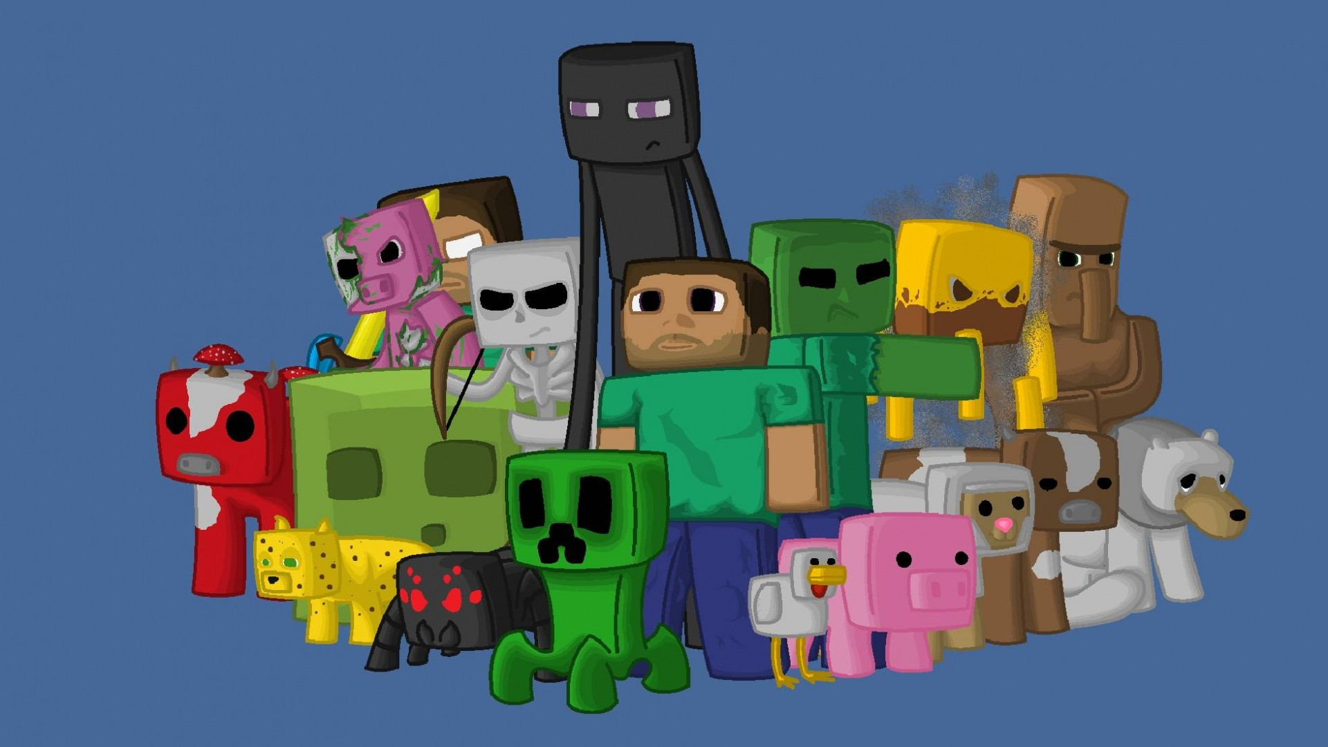 Minecraft PC Wallpapers ·① WallpaperTag