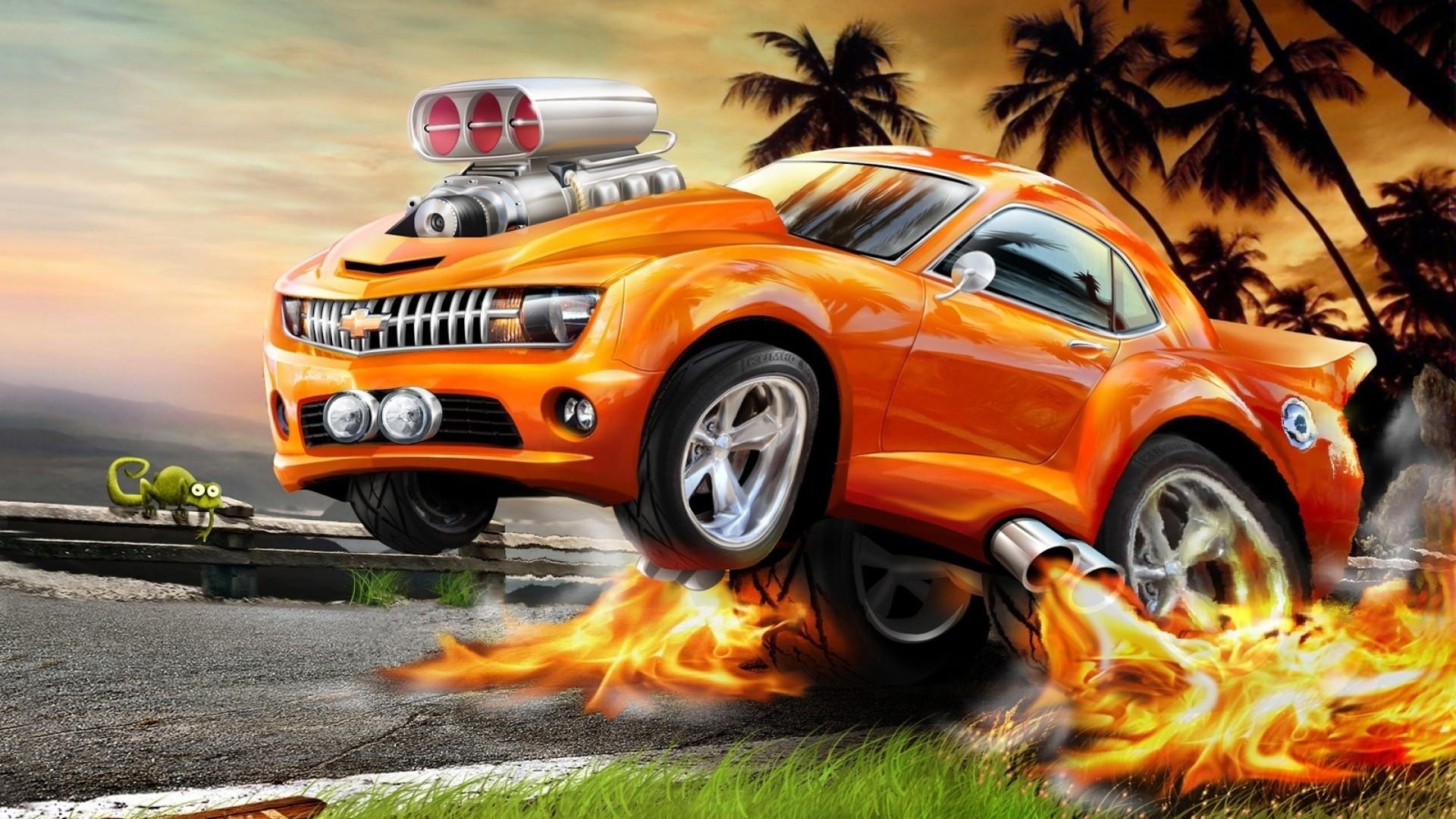 Hot Wheels Wallpapers Hotwheels 12 Camaro Zl1 Green 1920x1080 Forza Horizon 3