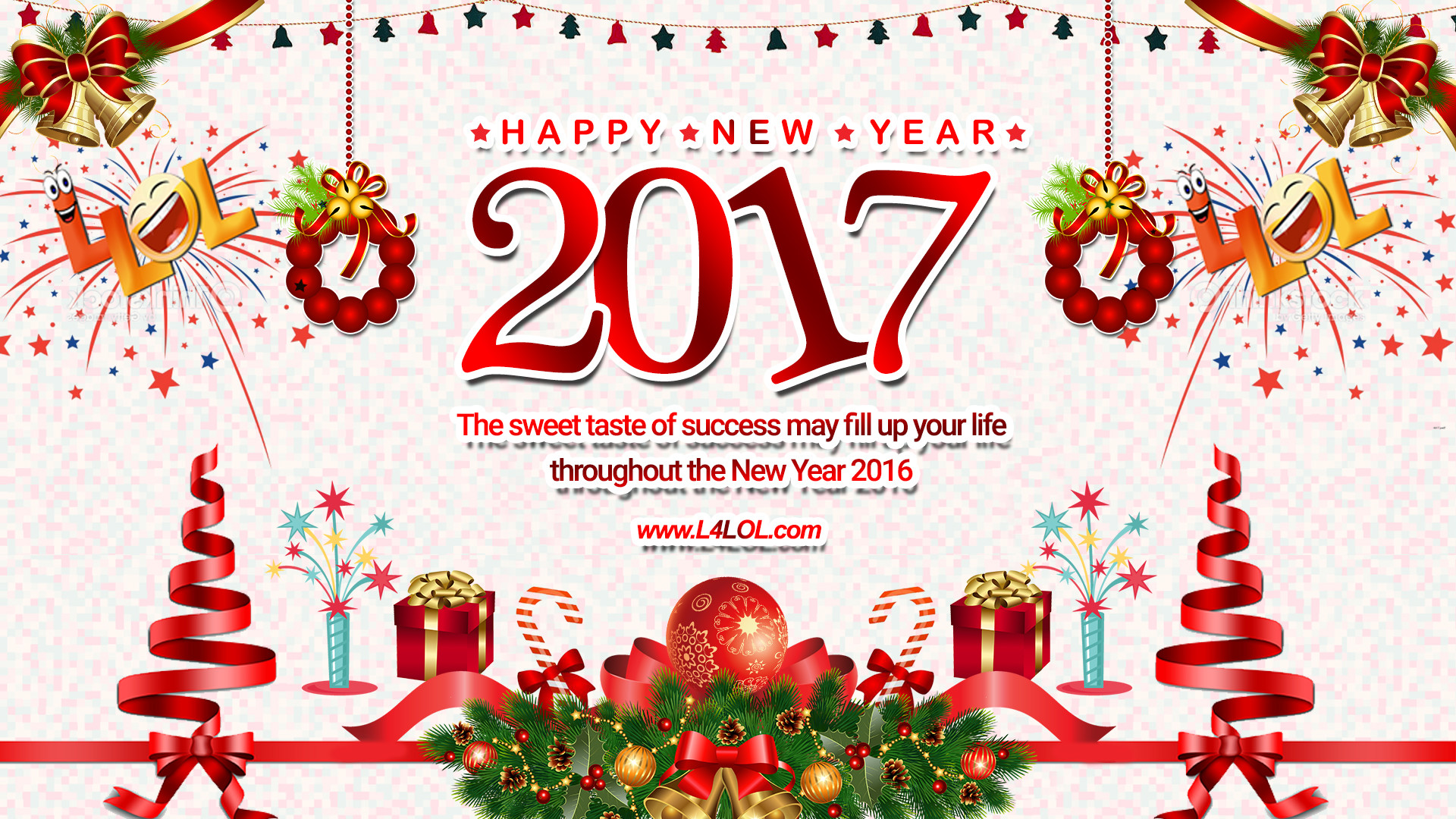 New Year Greetings Wallpapers 2018