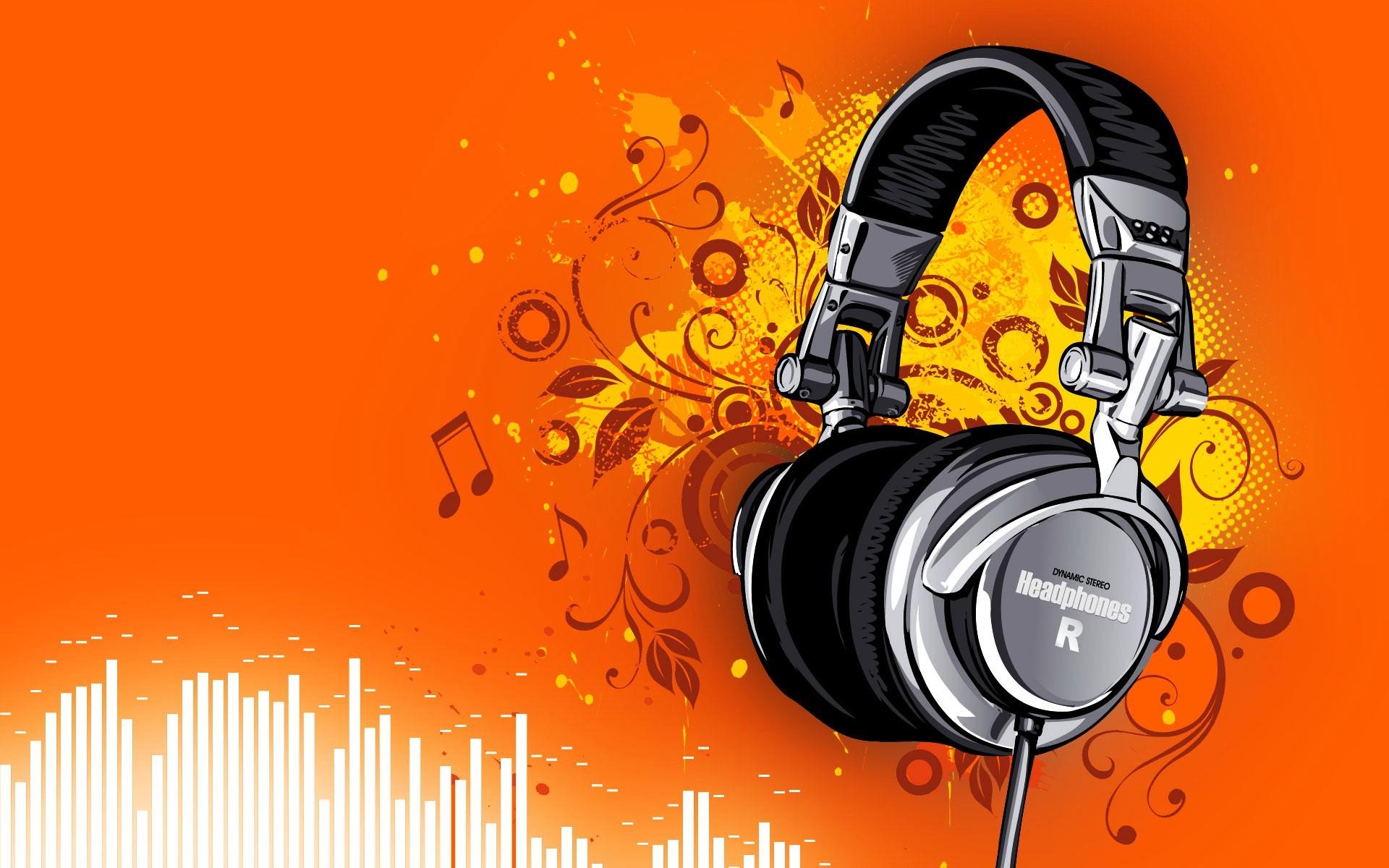Headphones Music Microphones 4500x4100 Wallpaper: Cool Headphones Wallpaper ·① WallpaperTag