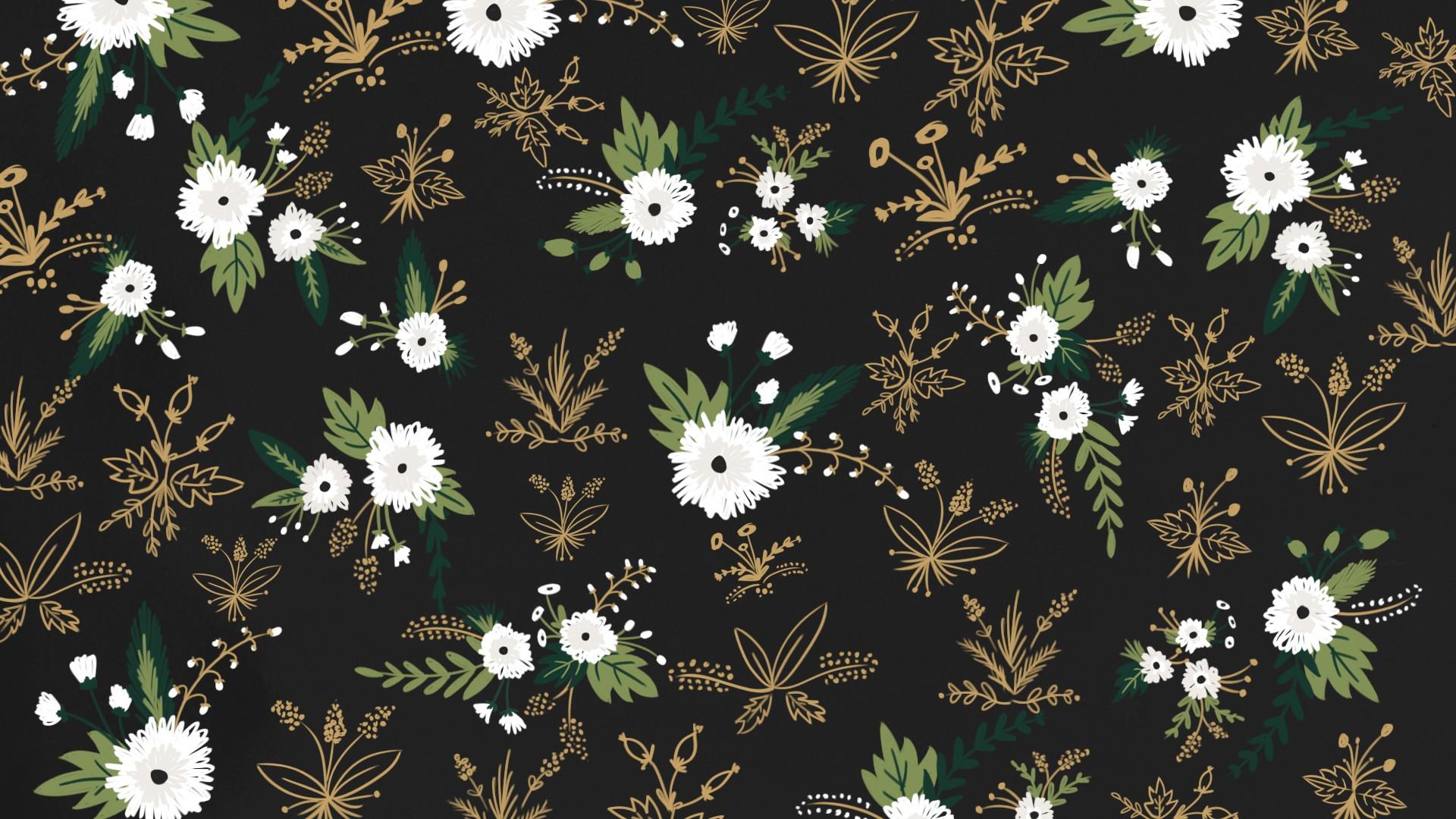 Floral desktop wallpaper ·① Download free cool full HD ...