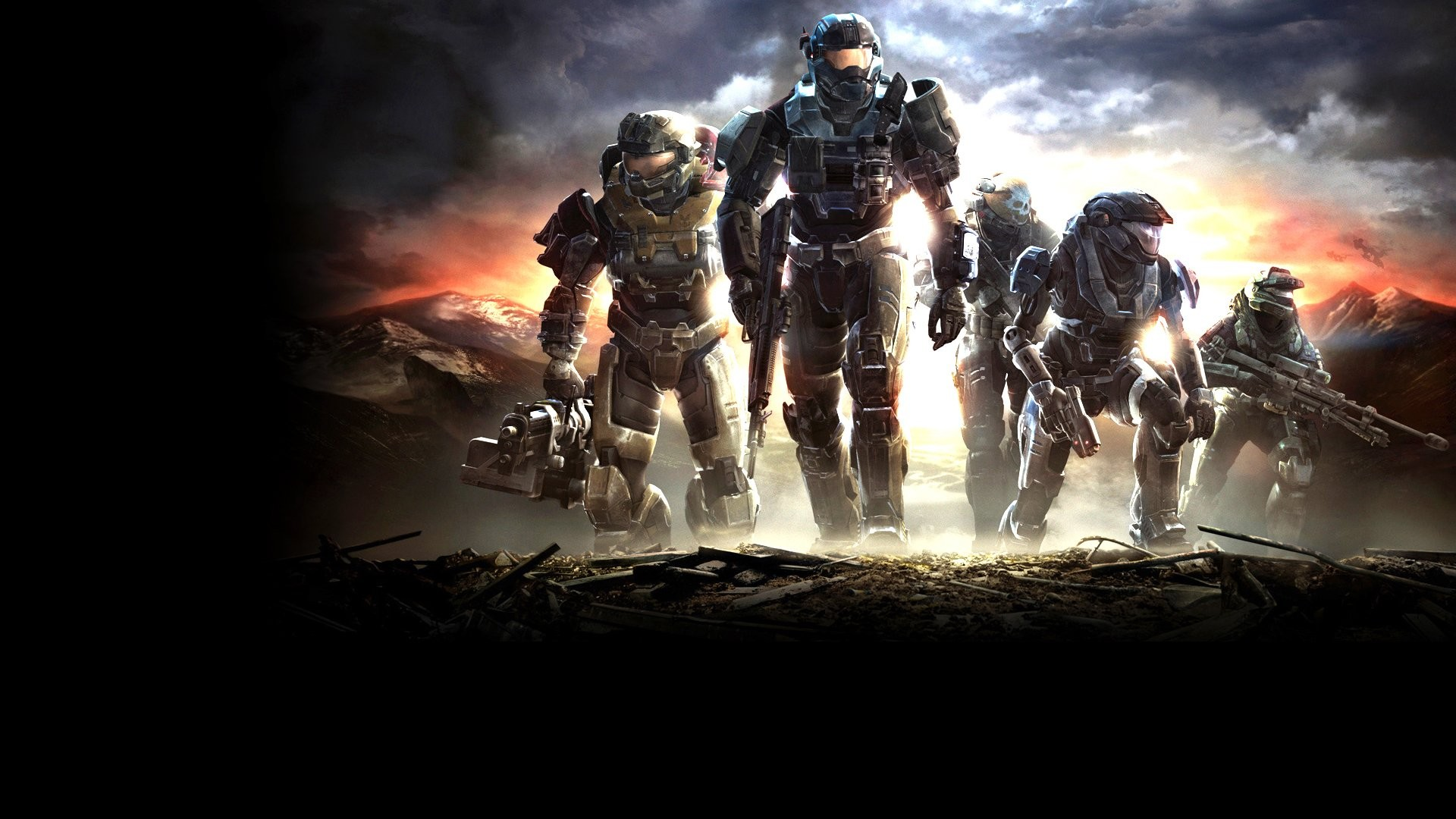 1920x1080 Halo Reach HD Background Wallpapers