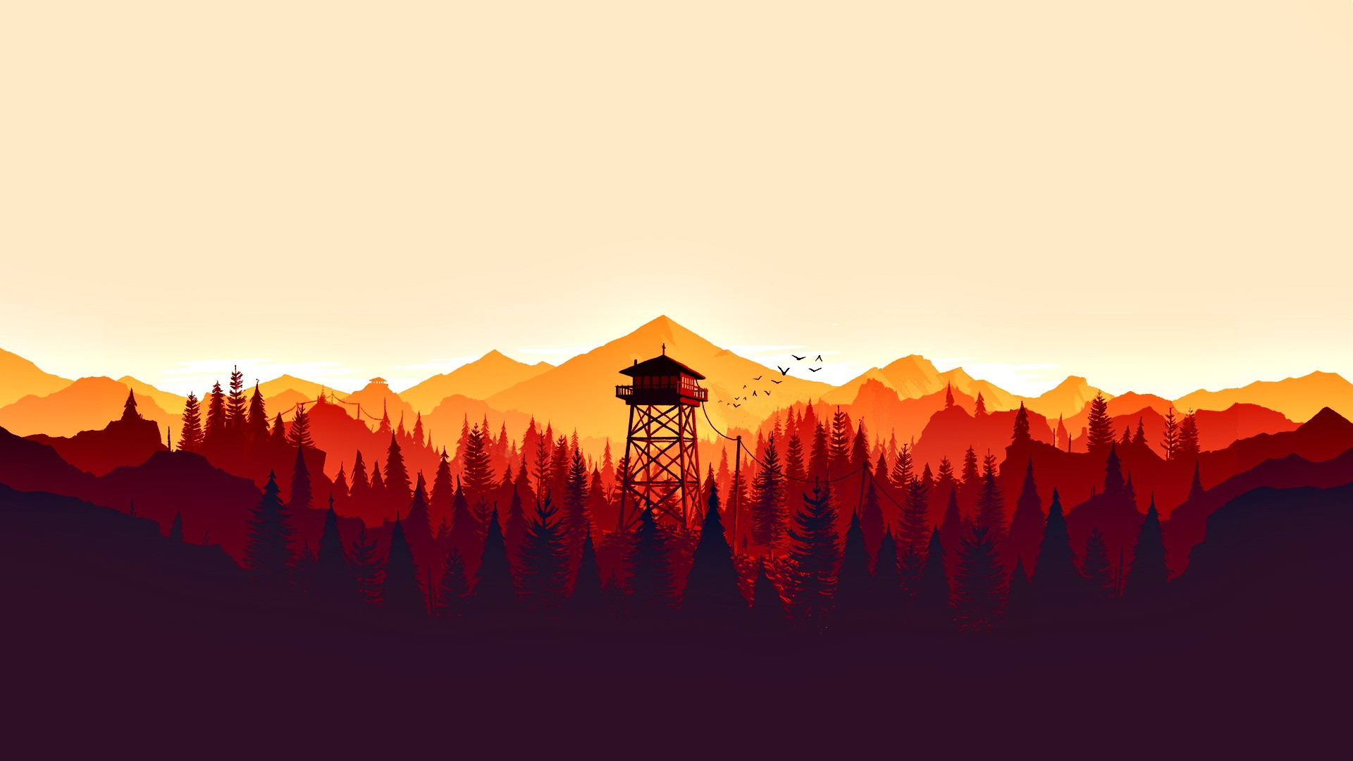 Firewatch Wallpaper ·① Download Free Amazing HD Wallpapers