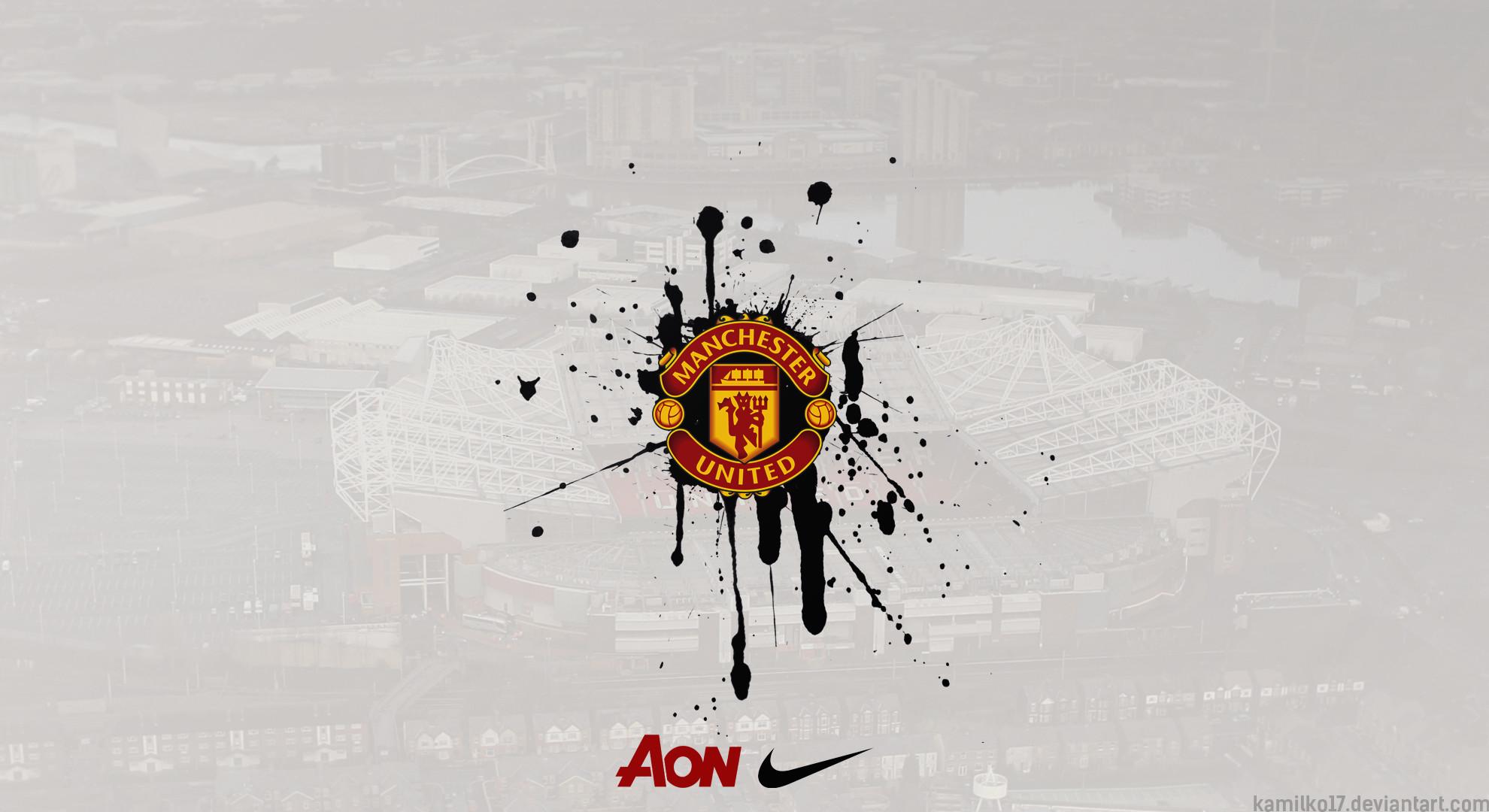 Manchester United Logo Wallpaper Hd ①