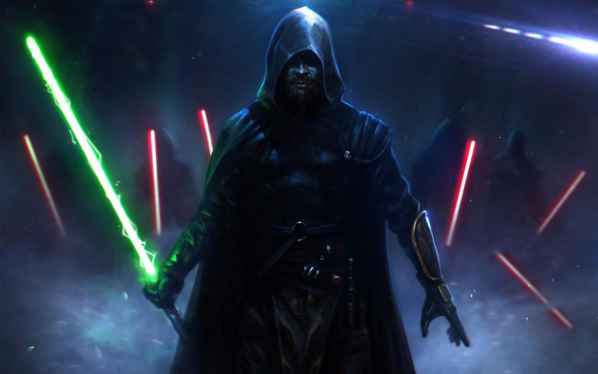 Star Wars Lightsaber Duel Wallpaper Wallpapertag