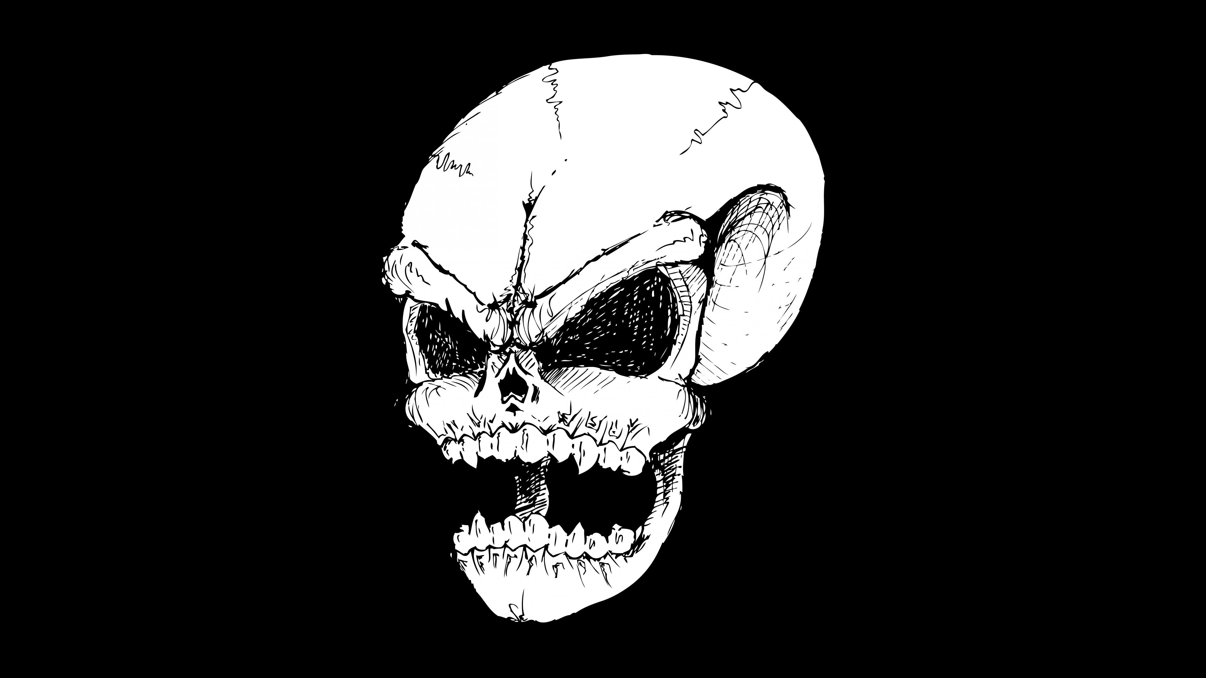 evil skull wallpaper  u00b7 u2460 wallpapertag