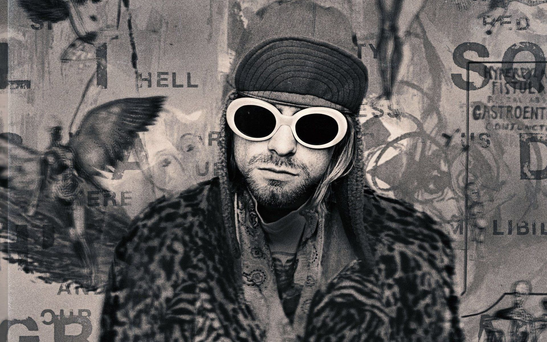 1920x1200 Kurt Cobain HD Wallpaper Picture Image Download Nirvana Smartphone