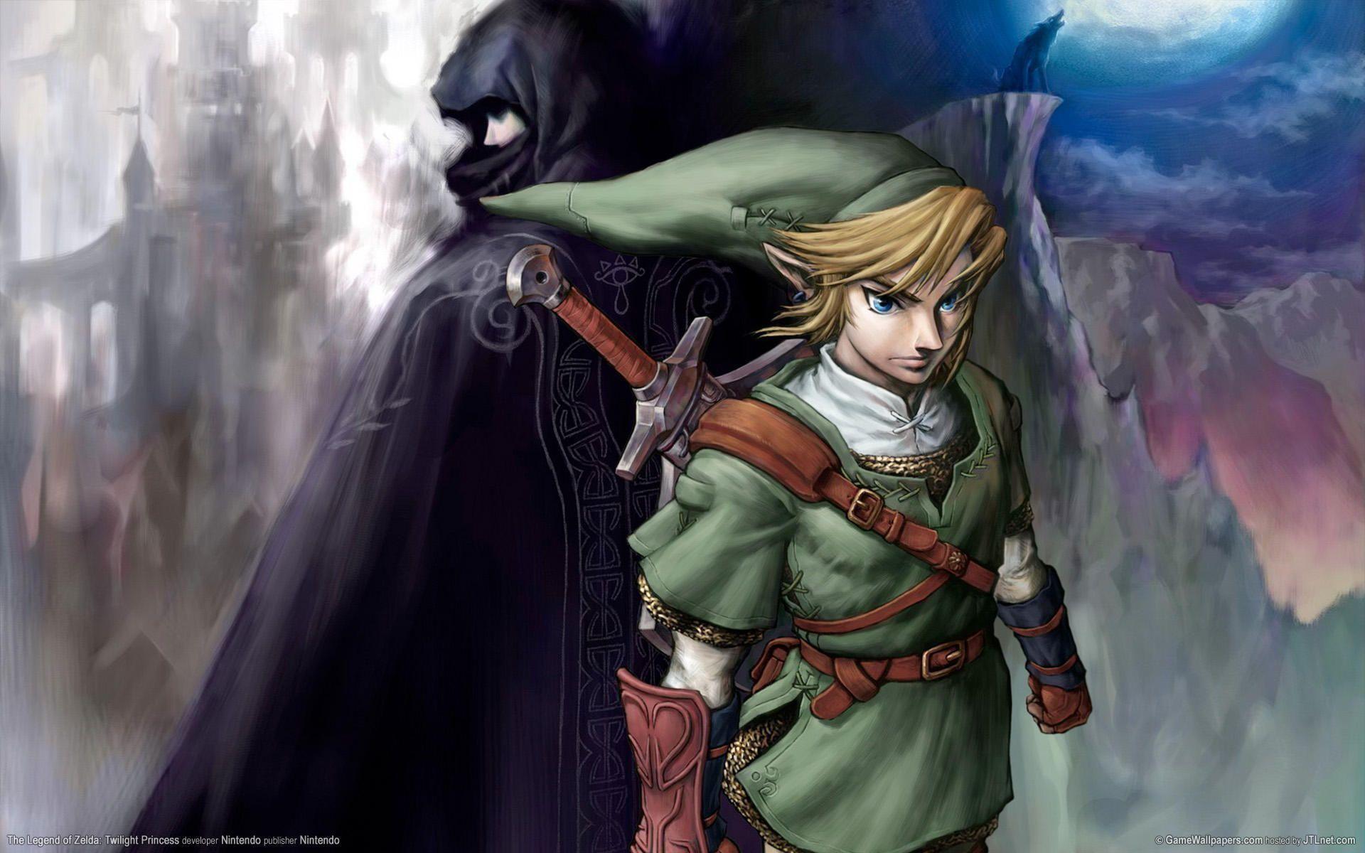 Zelda Twilight Princess Wallpapers Wallpapertag