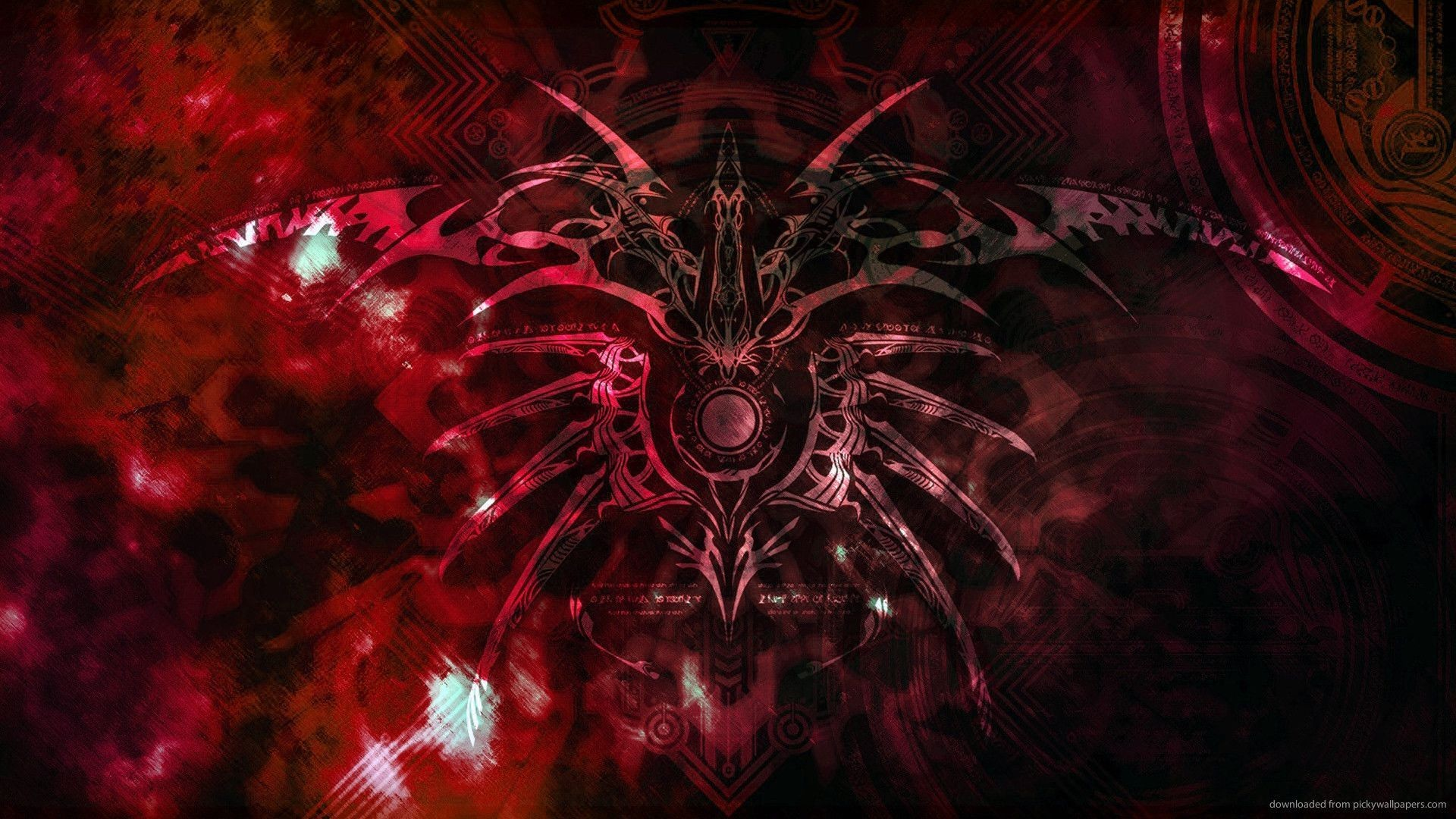 Space Demonic Art Hd Wallpaper: Evil Backgrounds ·①