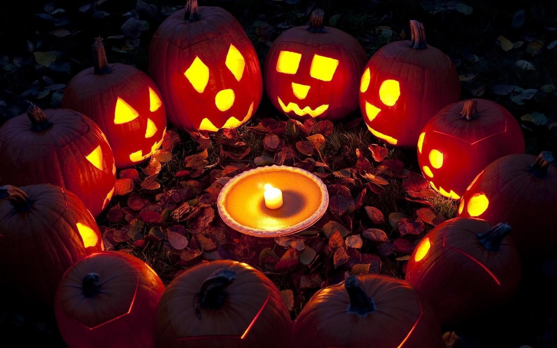 1920x1200 Halloween Pumpkin Desktop Wallpaper · Download · HD ...