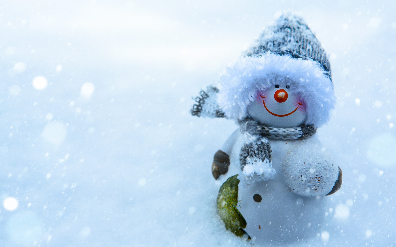 Free Desktop Backgrounds Snowman