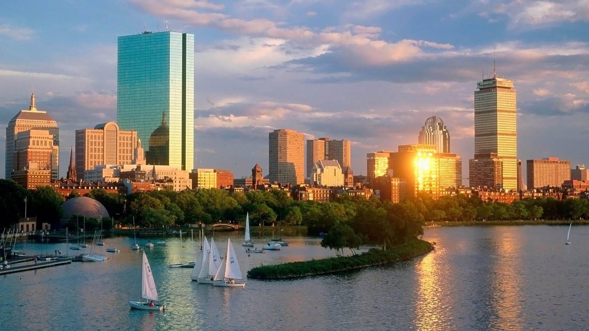 Boston Skyline Wallpaper ·① WallpaperTag