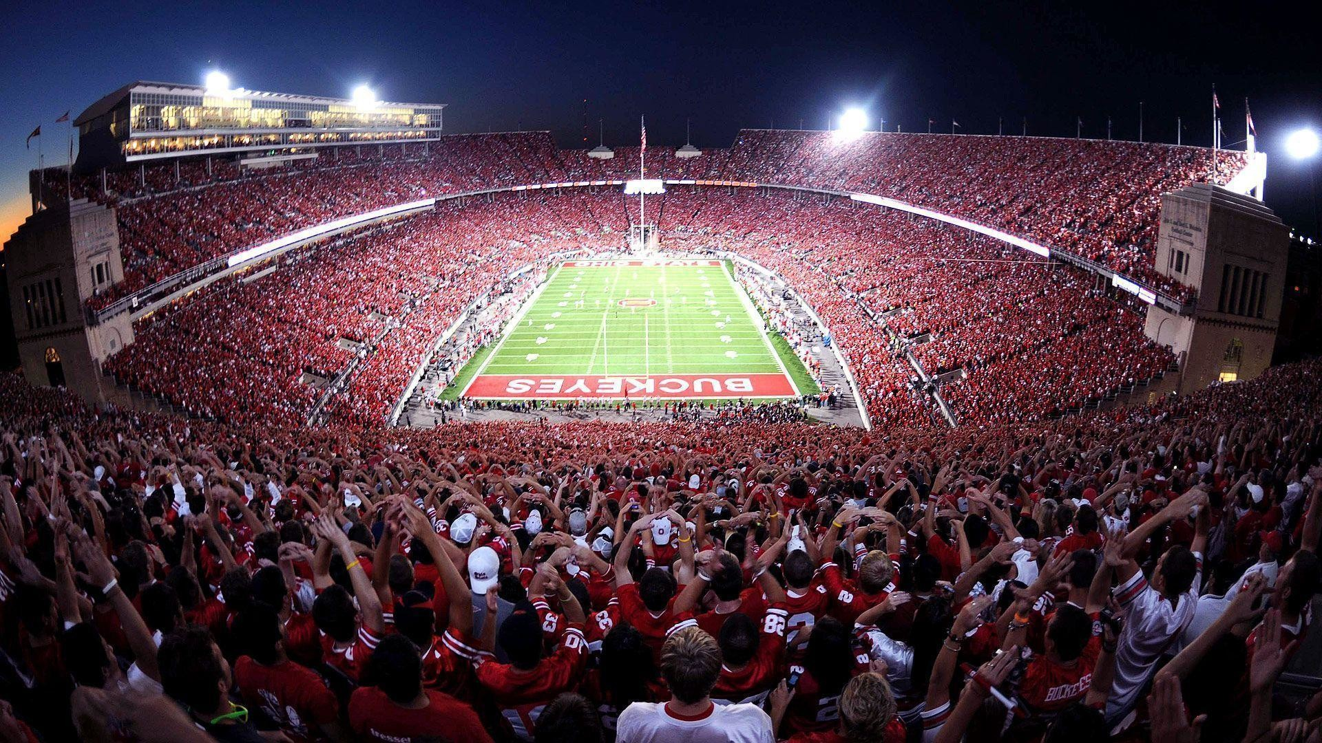 1920x1080 Ohio State Football Stadium Wallpaper