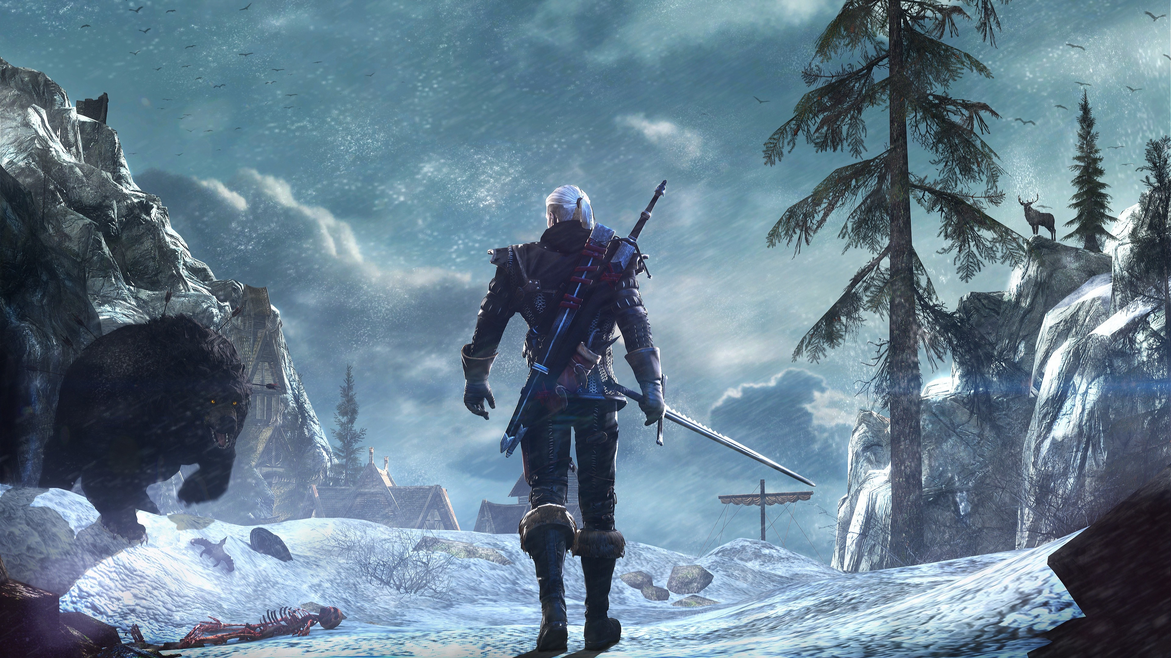 The Witcher 3 Ultra Hd Wallpaper Babangrichie Org