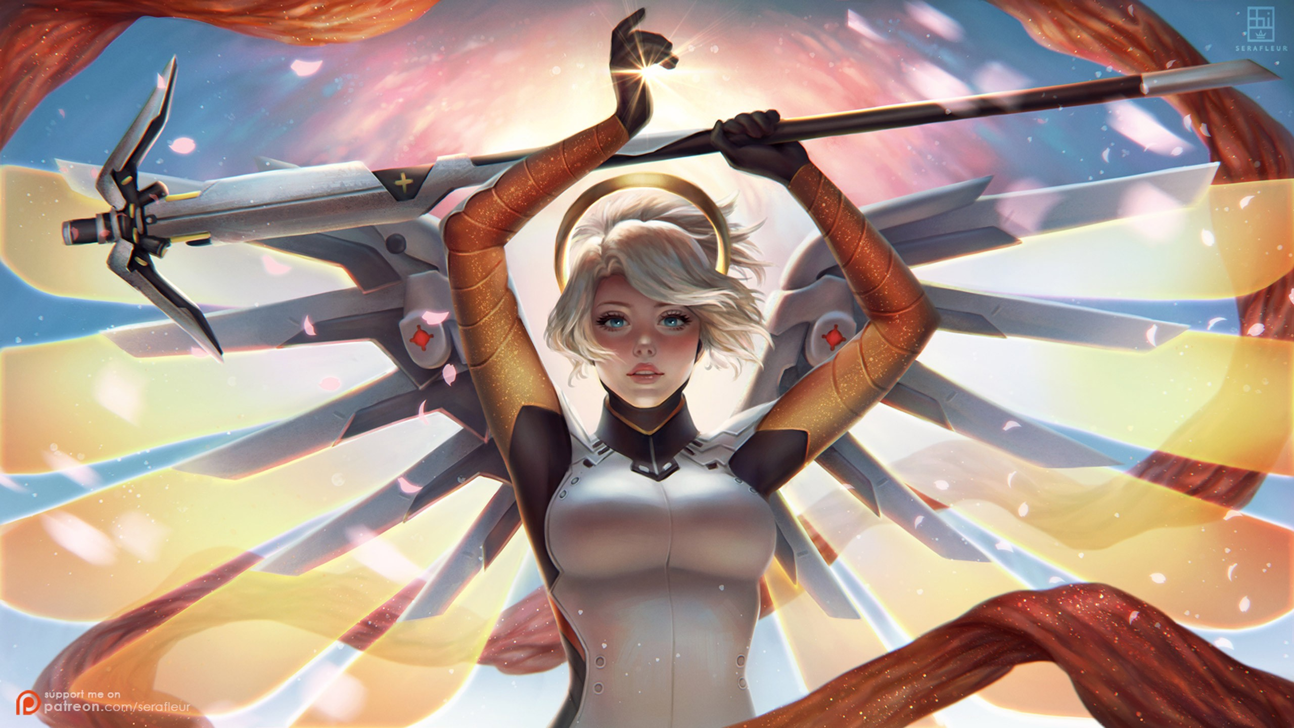 Mercy Overwatch wallpaper ·① Download free cool full HD ...