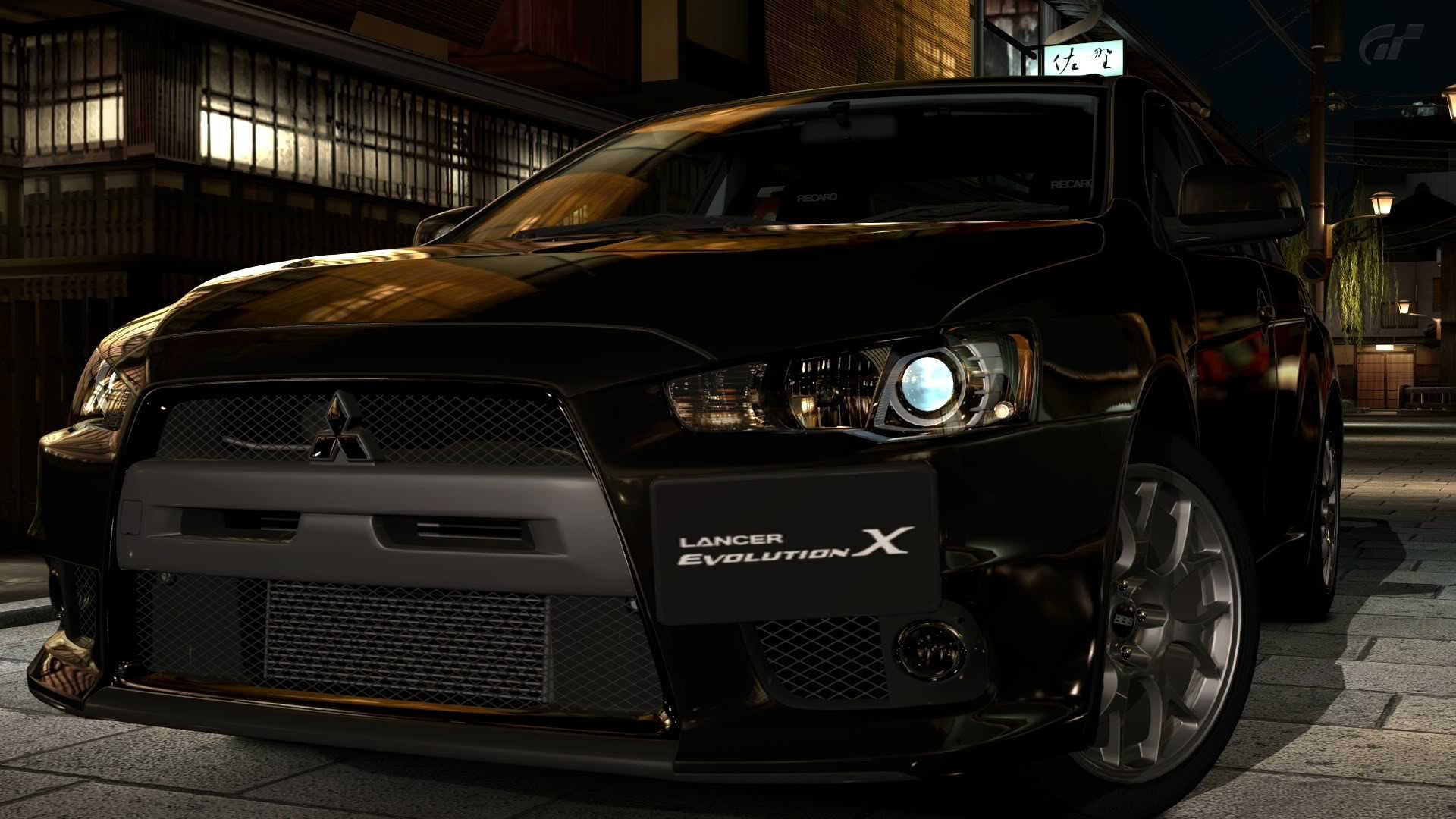lancer evo x wallpaper ·①