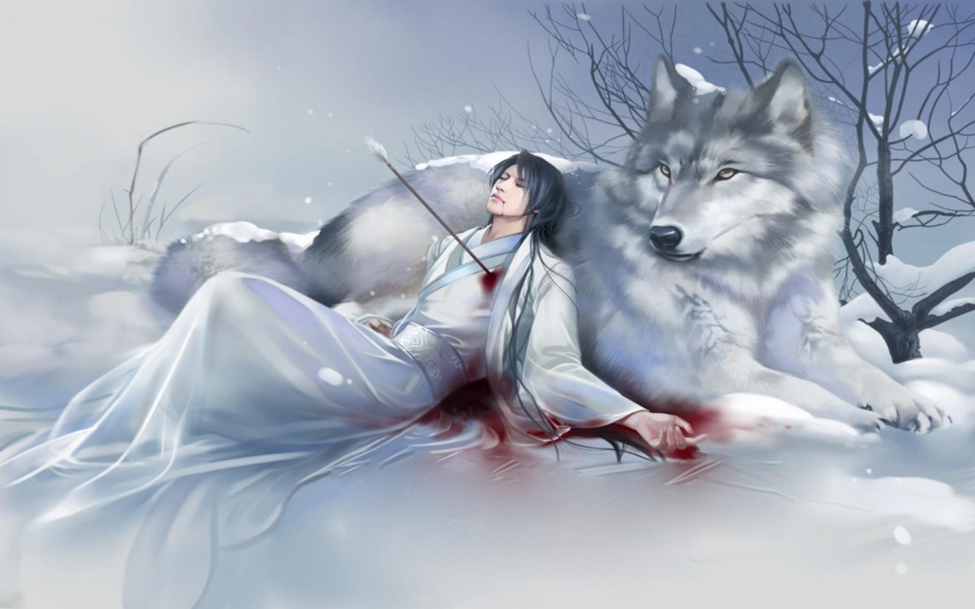 Anime wolf wallpaper wallpapertag - Anime wolf wallpaper ...
