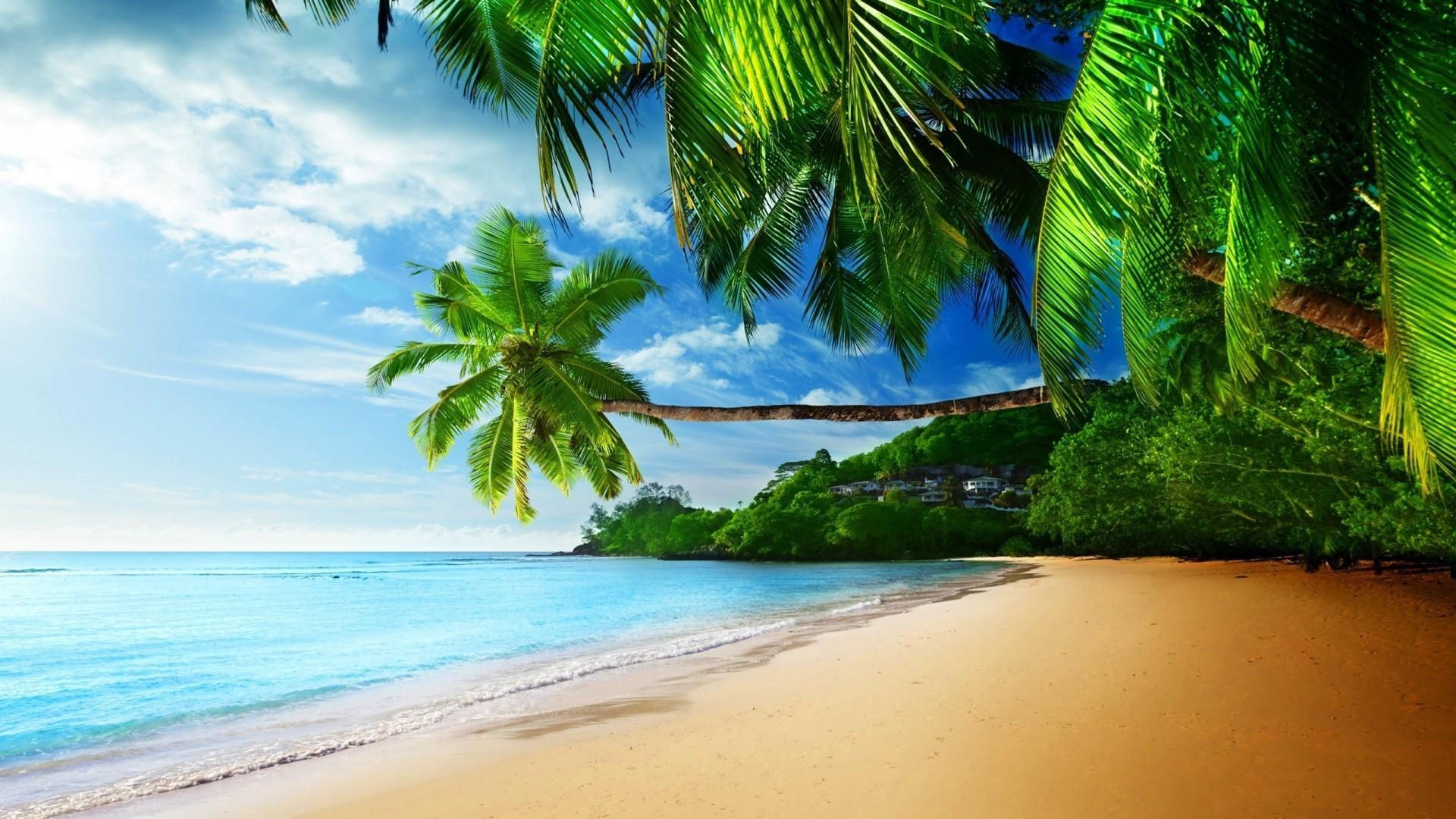 High Resolution Beach Wallpaper: Tropical Wallpaper Desktop ·① WallpaperTag