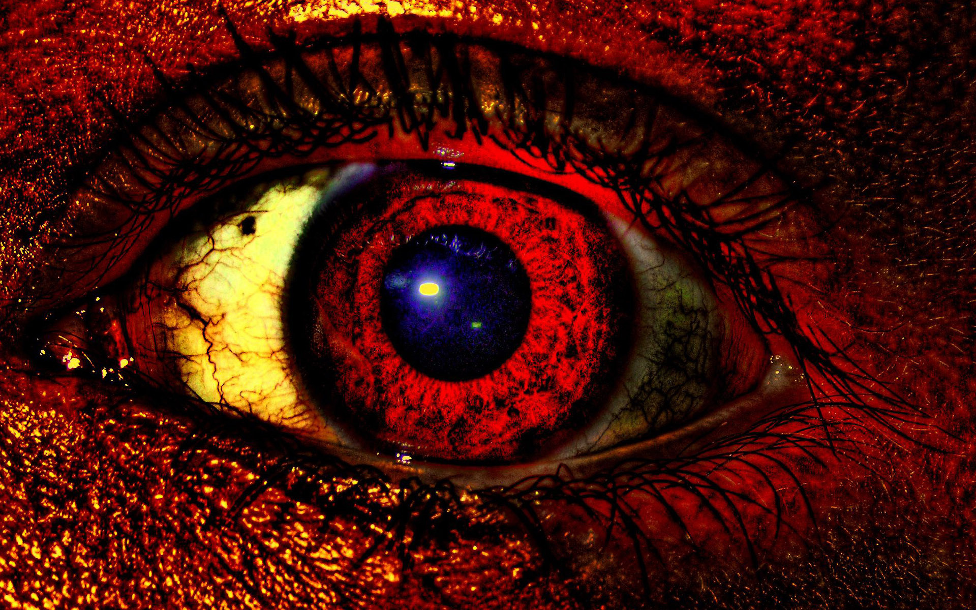 Red Eye Wallpaper ·①