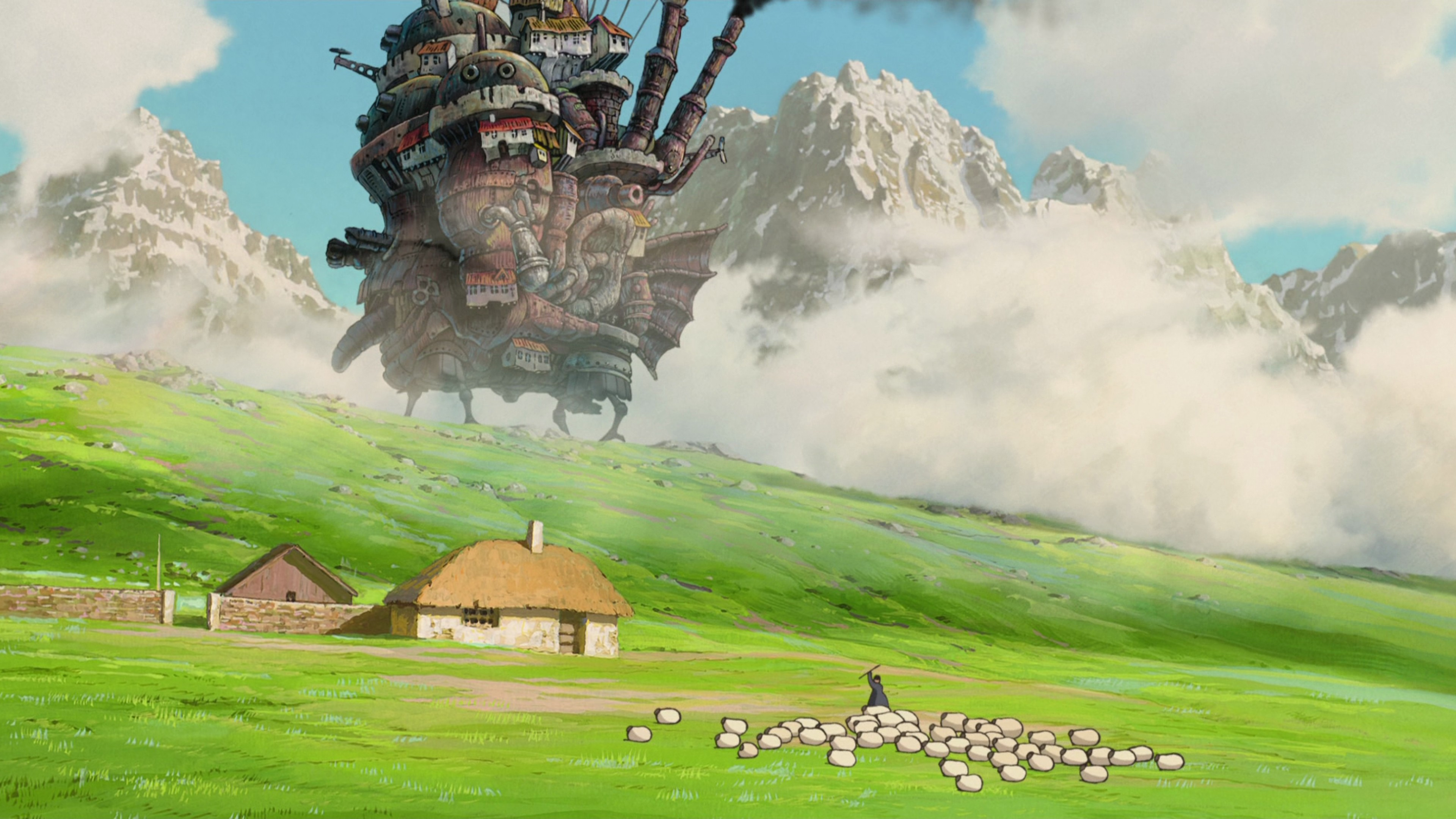 Hd Ghibli Wallpaper 1080: Studio Ghibli Wallpapers ·① WallpaperTag