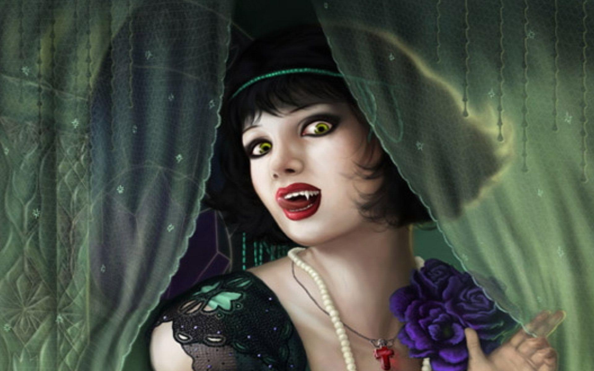 Fantasy Vampire Wallpaper ·① WallpaperTag