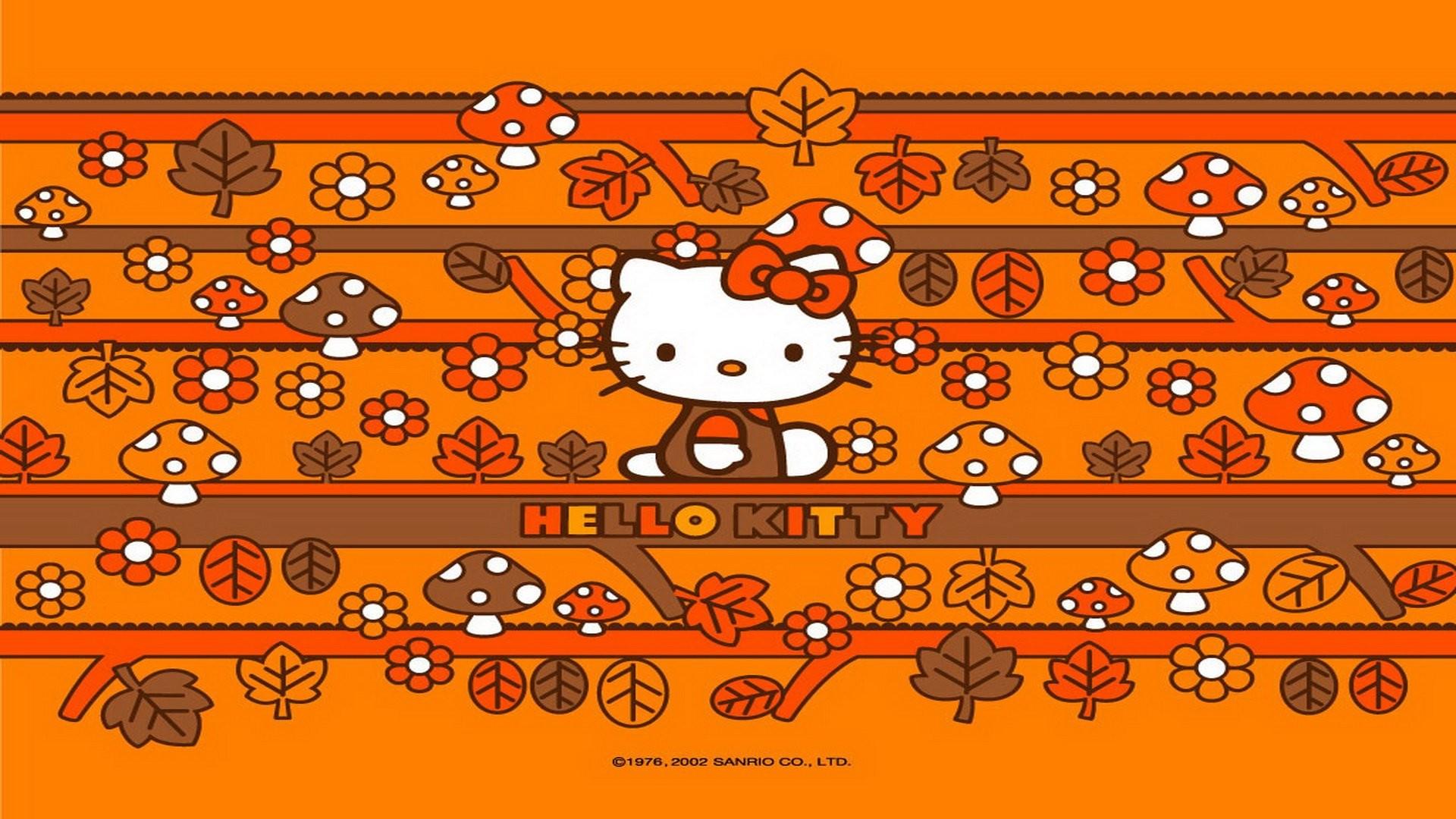Hello Kitty Thanksgiving Wallpaper 1