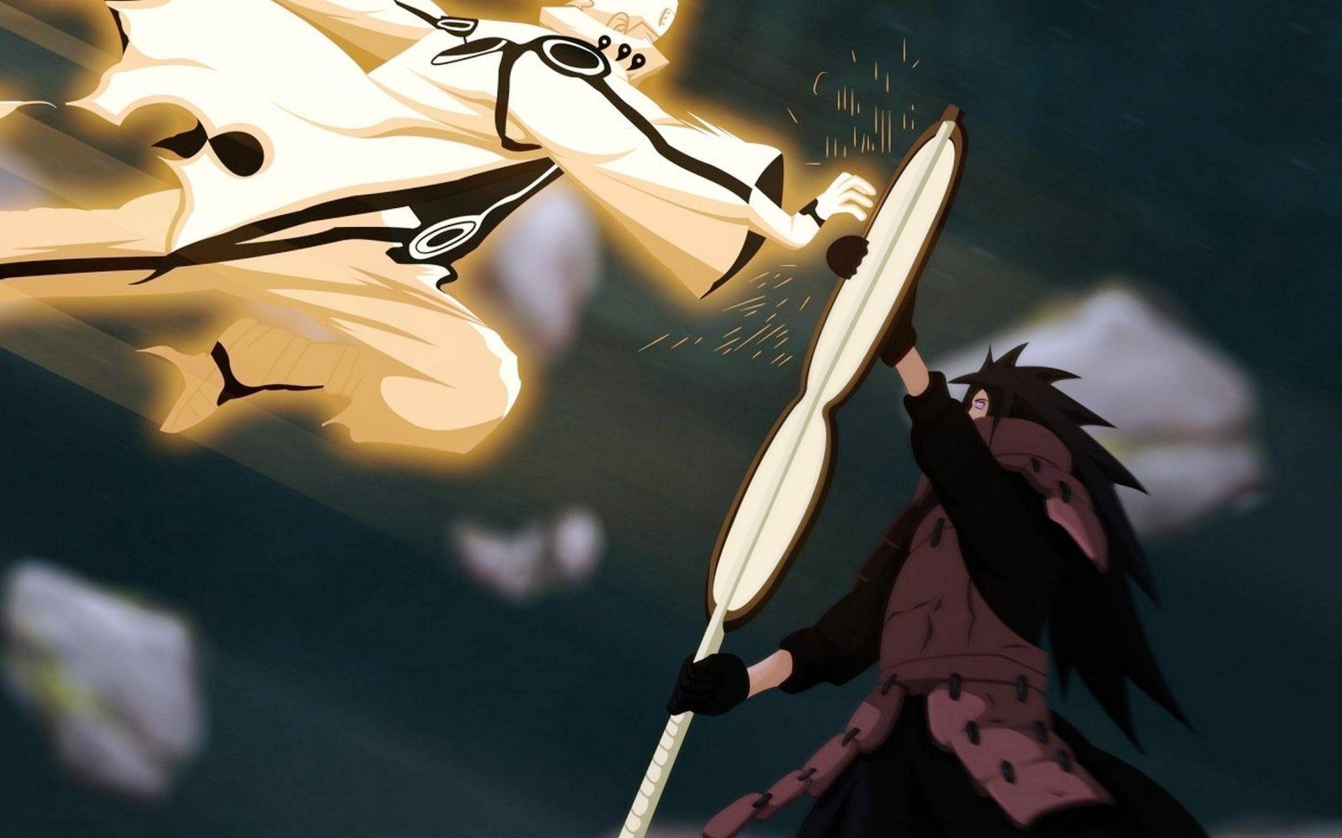 Naruto Vs Madara Wallpapers Wallpapertag