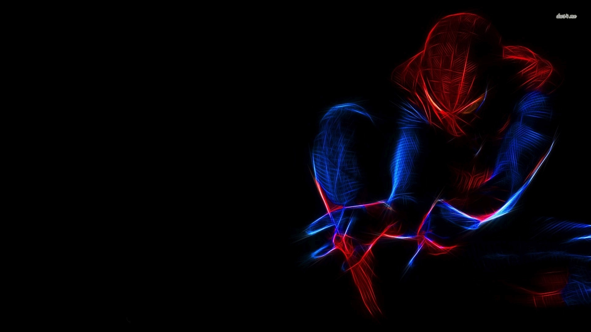 10 Best Spider Man 2099 Wallpaper Hd Full Hd 1920 1080 For: Spiderman Neon Red Wallpaper ·①