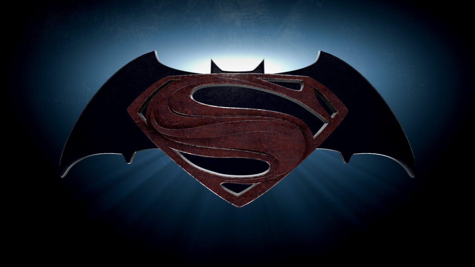 1920x1080 Batman Vs Superman Logo Wallpaper