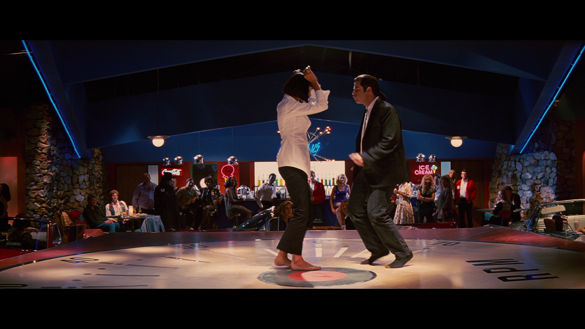 how to do the pulp fiction dance