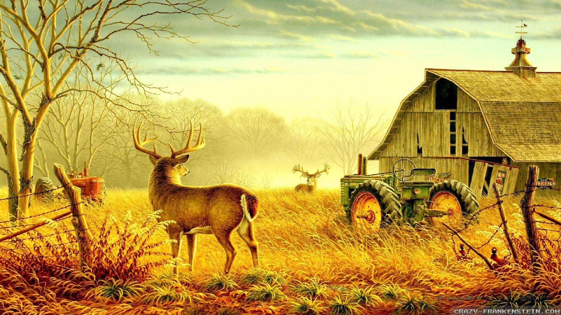 Rural scene wallpapers wallpapertag - Winter farm scenes wallpaper ...