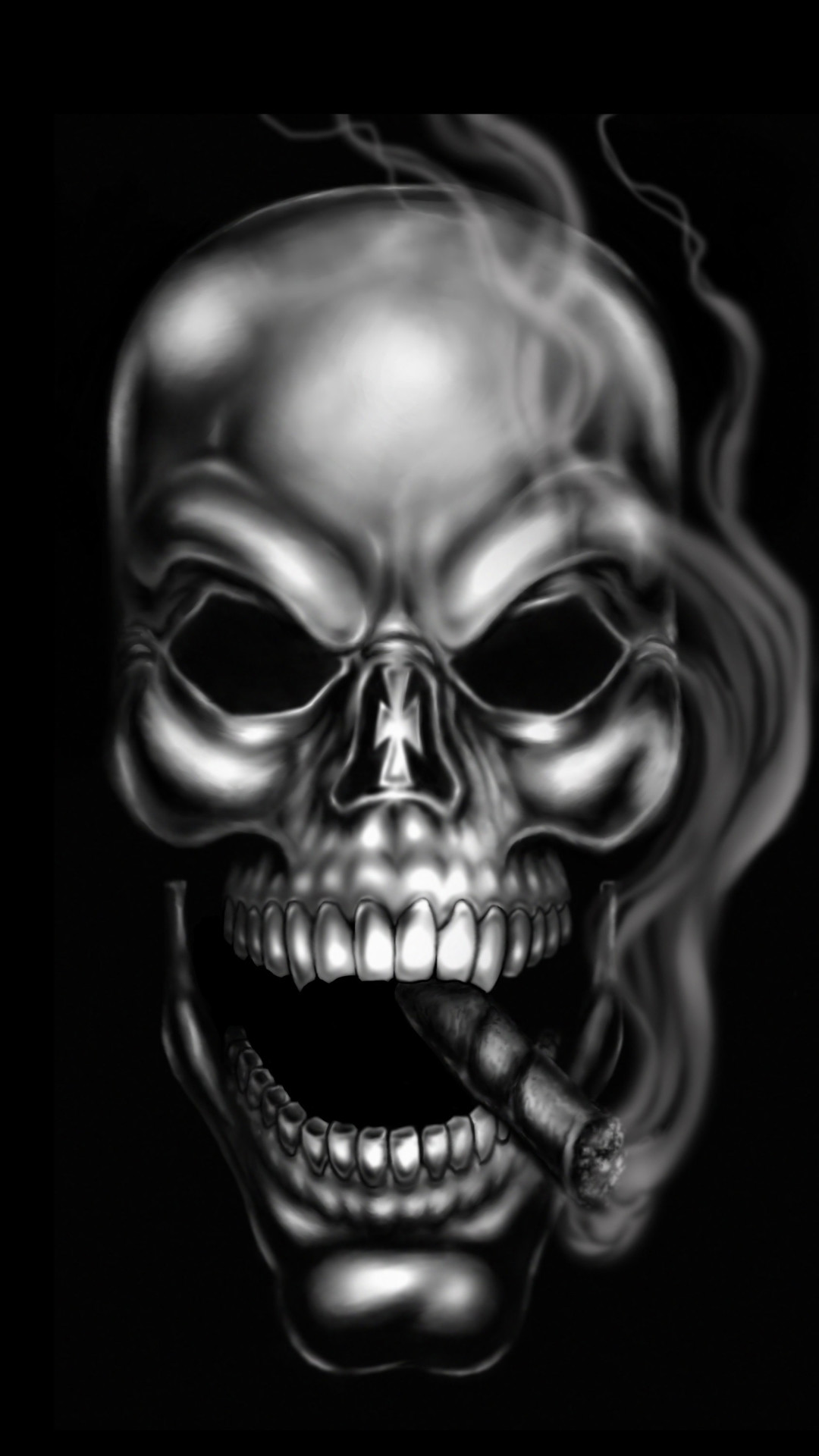 Skull Head Wallpaper Wallpapertag